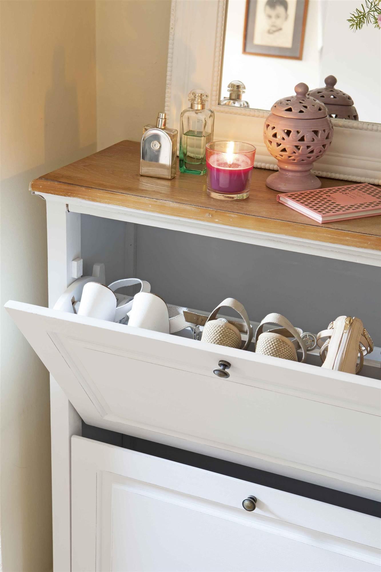 Muebles de zapatos mueble de pared venta al por menor for Mueble zapatero con cajones