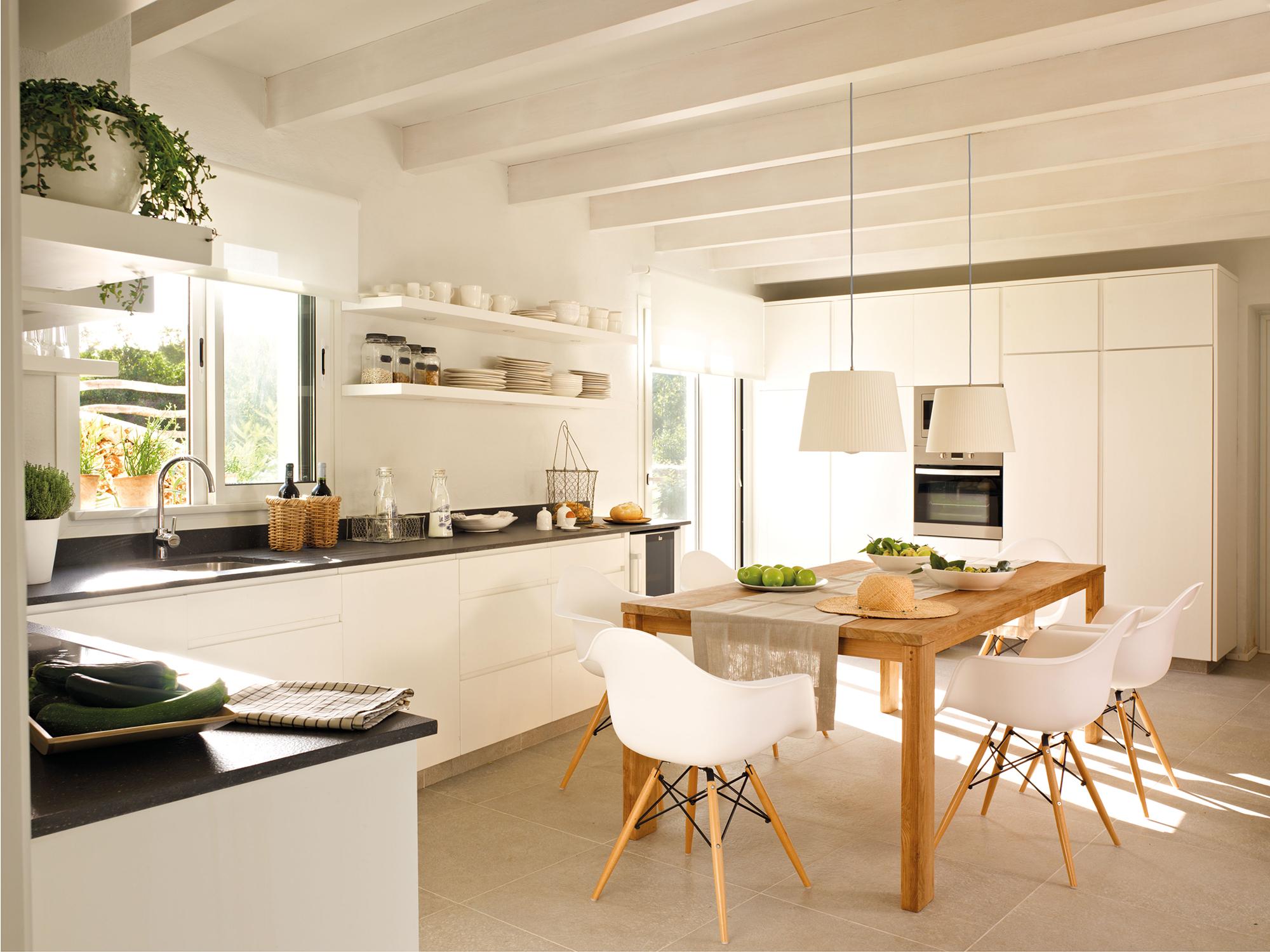 mueble de cocina de abedul sin terminar 4348 Fotos De Cocinas Pagina 39