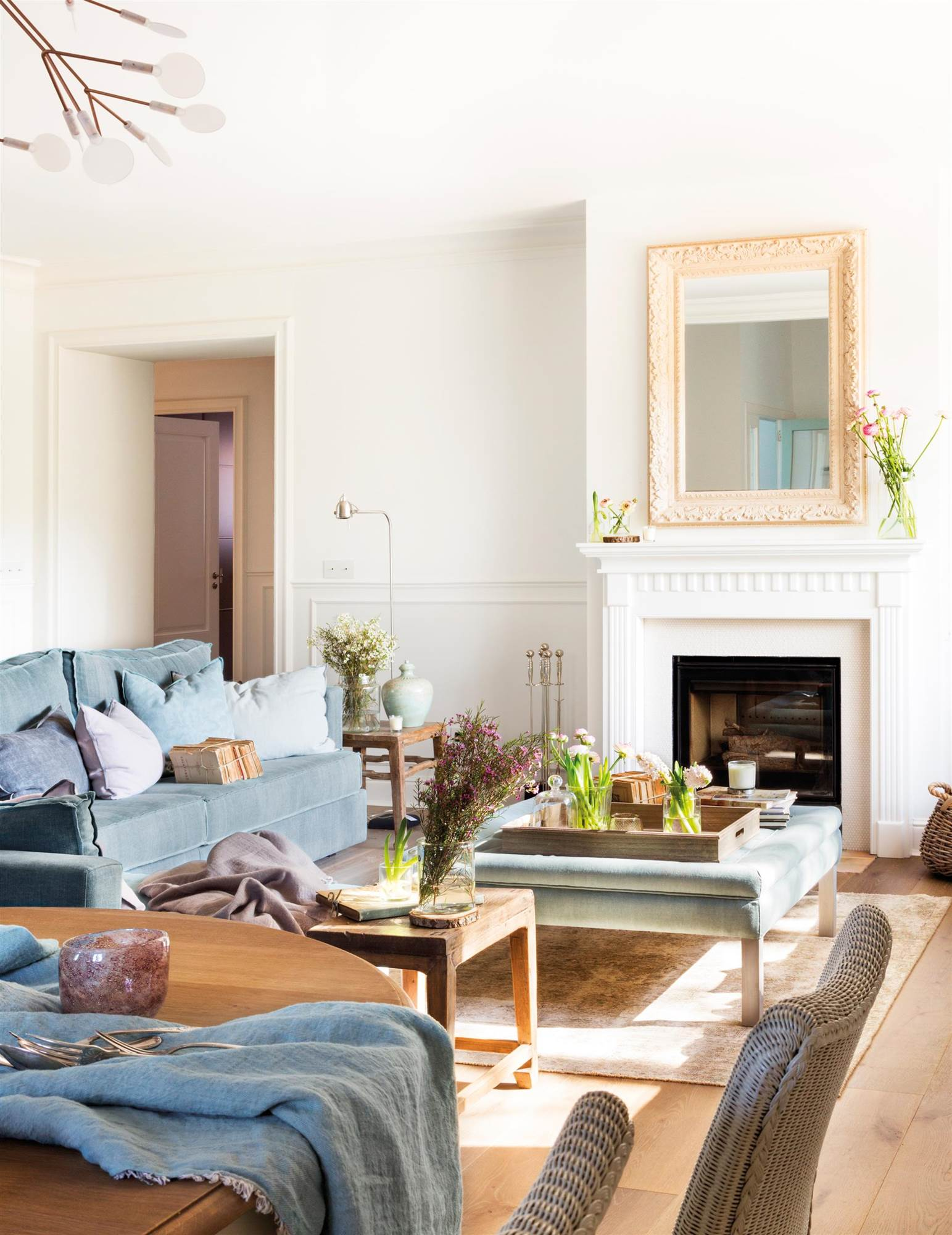 Elegir los colores de las paredes - Como limpiar paredes blancas ...