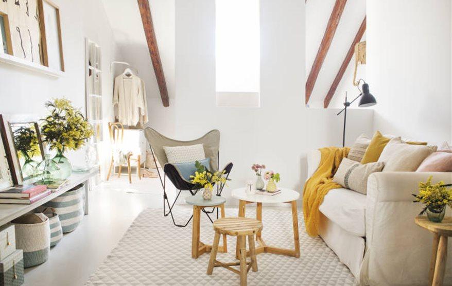 Decoraci n pisos peque os - Butacas pequenas para salon ...