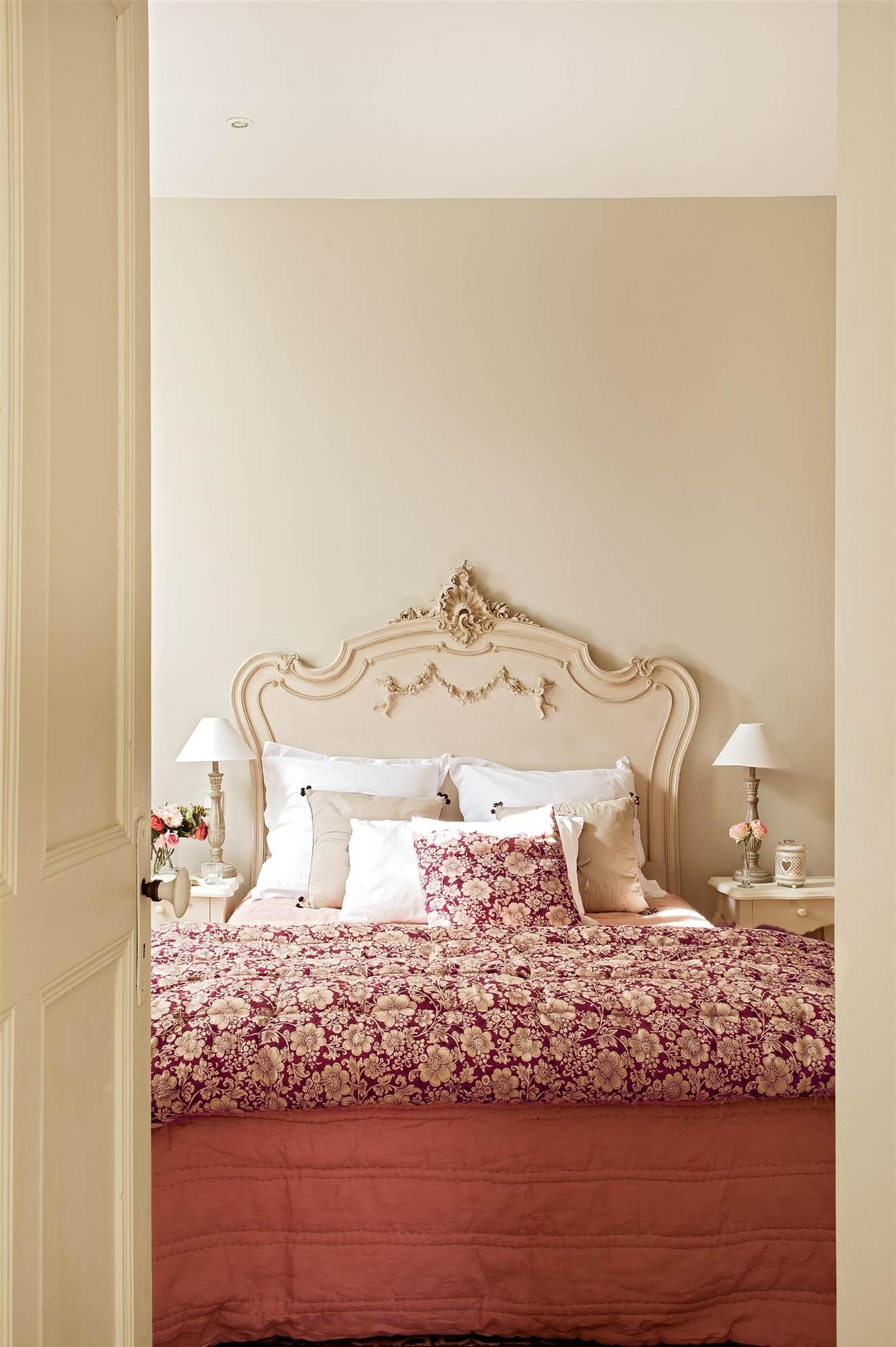 Cabeceros de cama los 50 mejores de el mueble for Muebles romanticos blancos