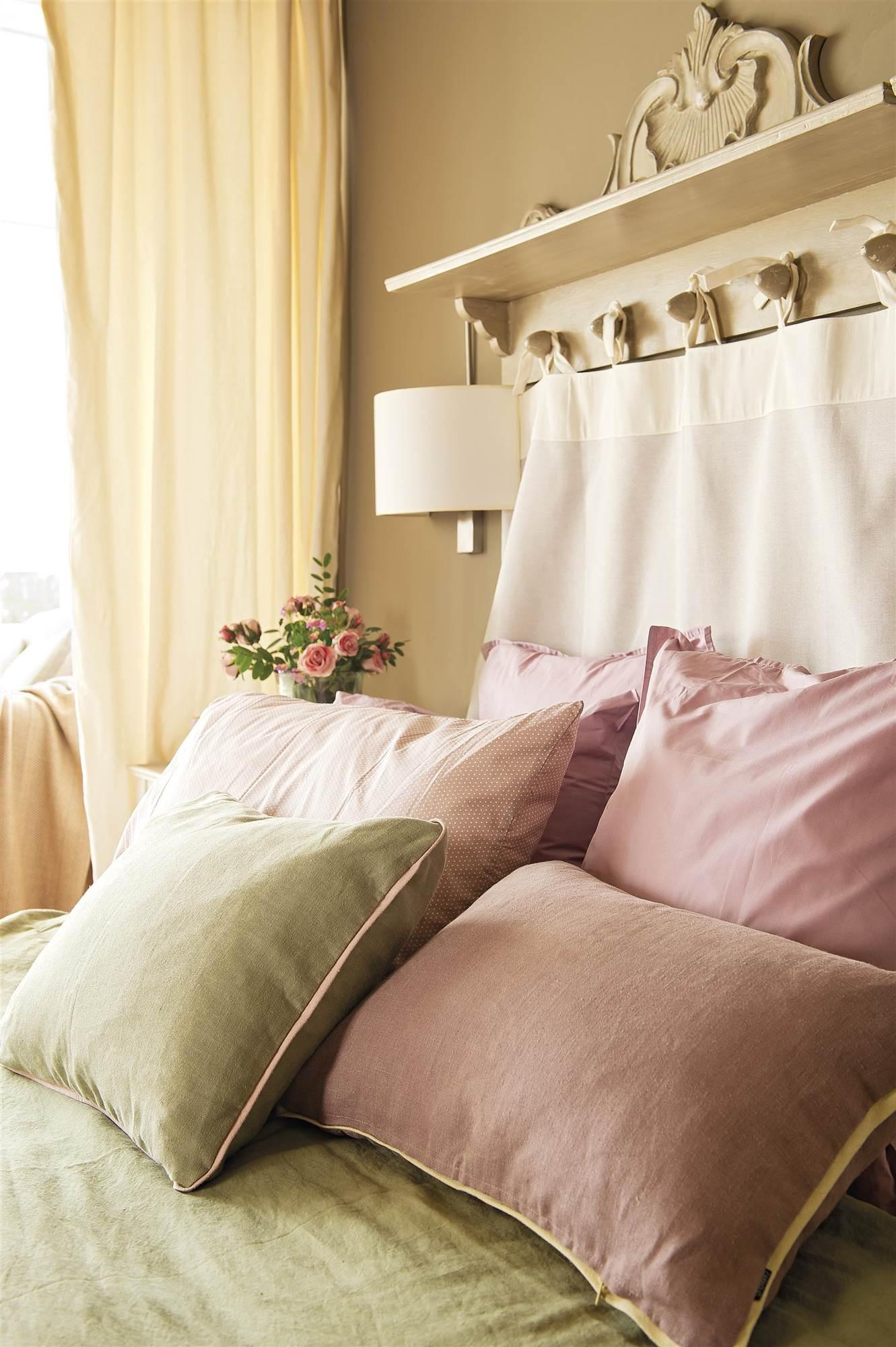Cabeceros de cama los 50 mejores de el mueble - Telas para forrar cabecero cama ...
