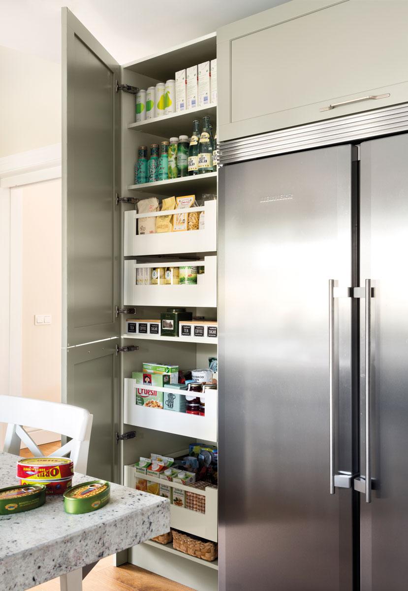 Armario despensa cocina stunning simple armario despensa Despensa cocina