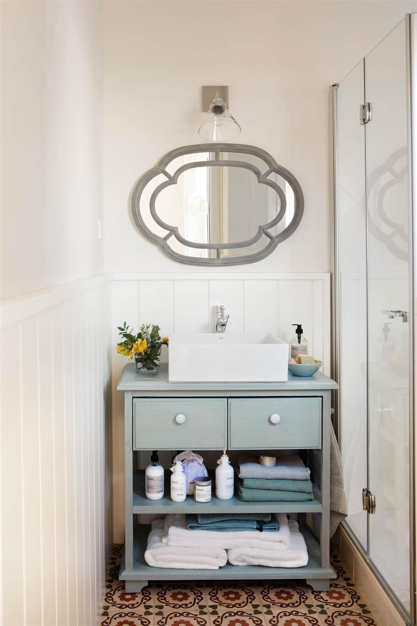 Mesa Para Lavabos Modernos.Muebles Para Banos Pequenos