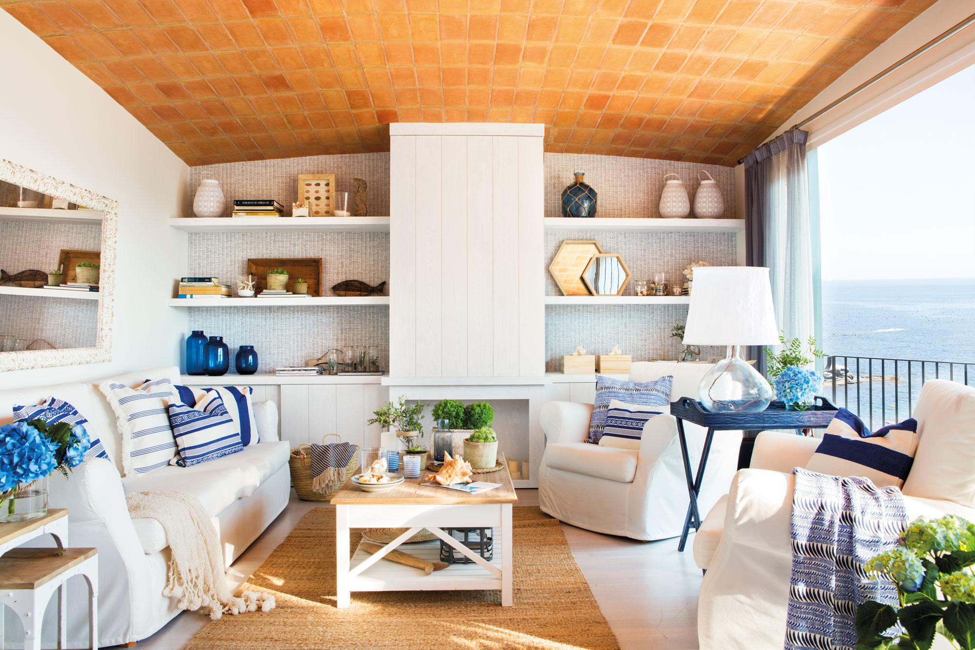 Como decorar tu piso de verano - Como decorar un mueble con papel pintado ...