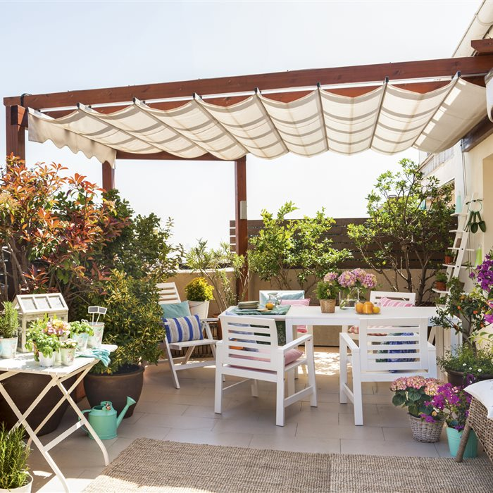 Terrazas muebles e ideas para la decoraci n de tu terraza - Ideas para cerrar una terraza ...