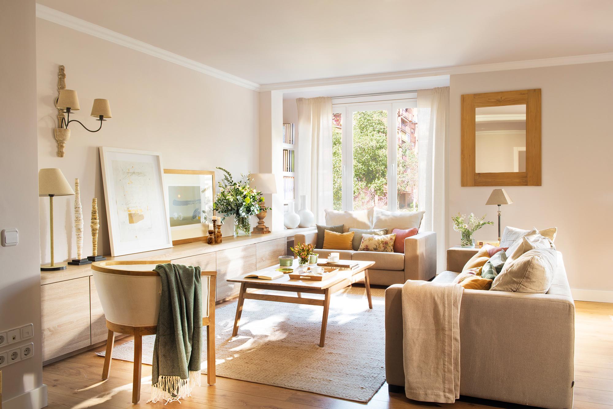 30 salones modernos y acogedores - Modelos de muebles de salon ...