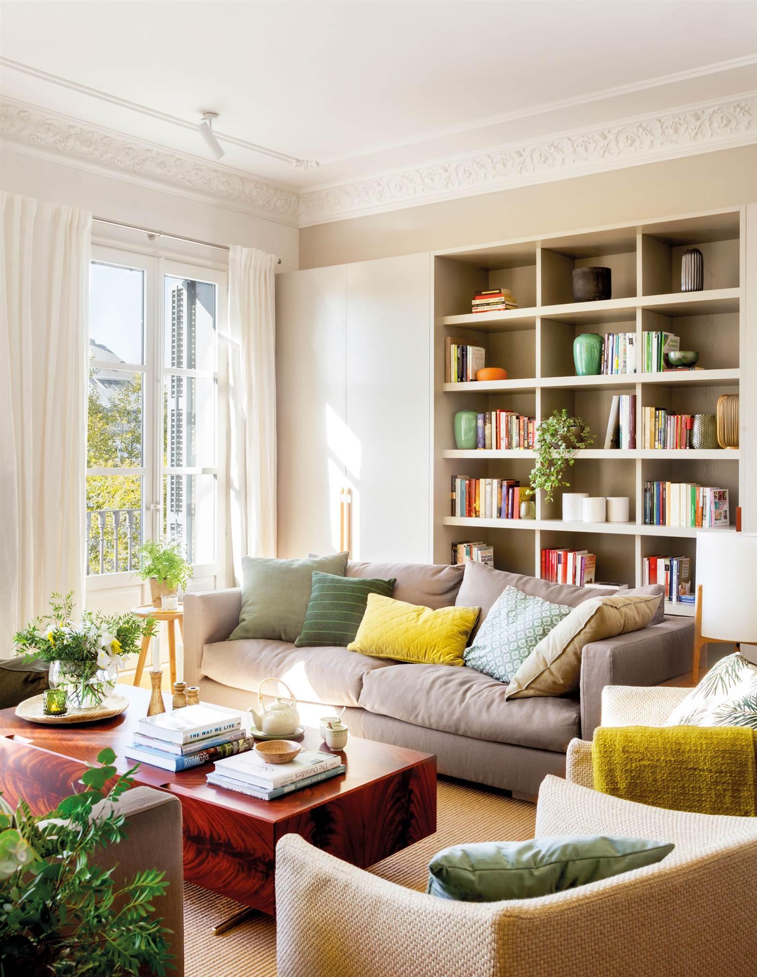 30 salones modernos y acogedores - Decorar salon clasico ...
