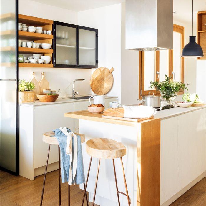 Cocinas: Inspírate con las cocinas más bonitas - ElMueble