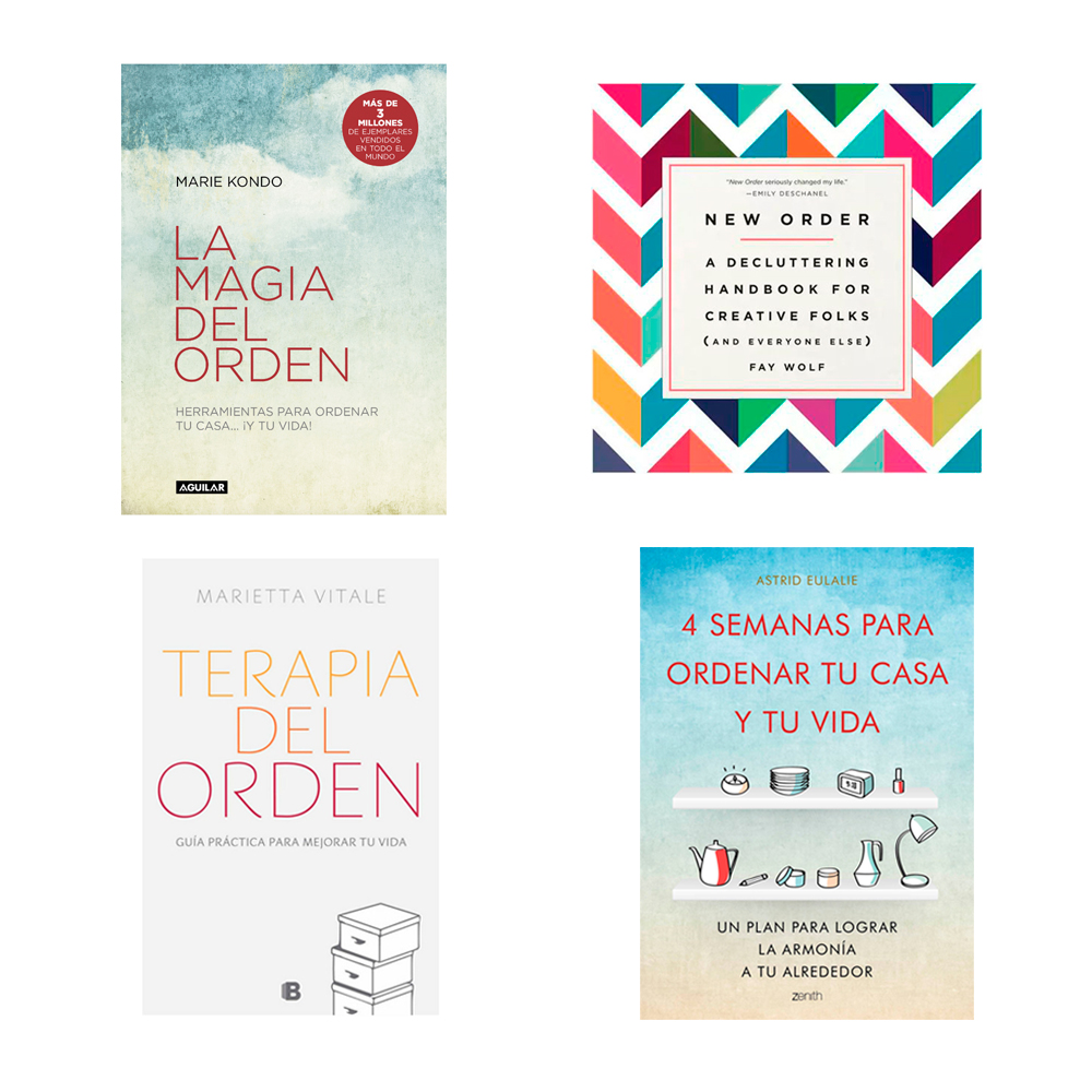 Organizadores profesionales nos dan 12 tips para los for Libros de marie kondo
