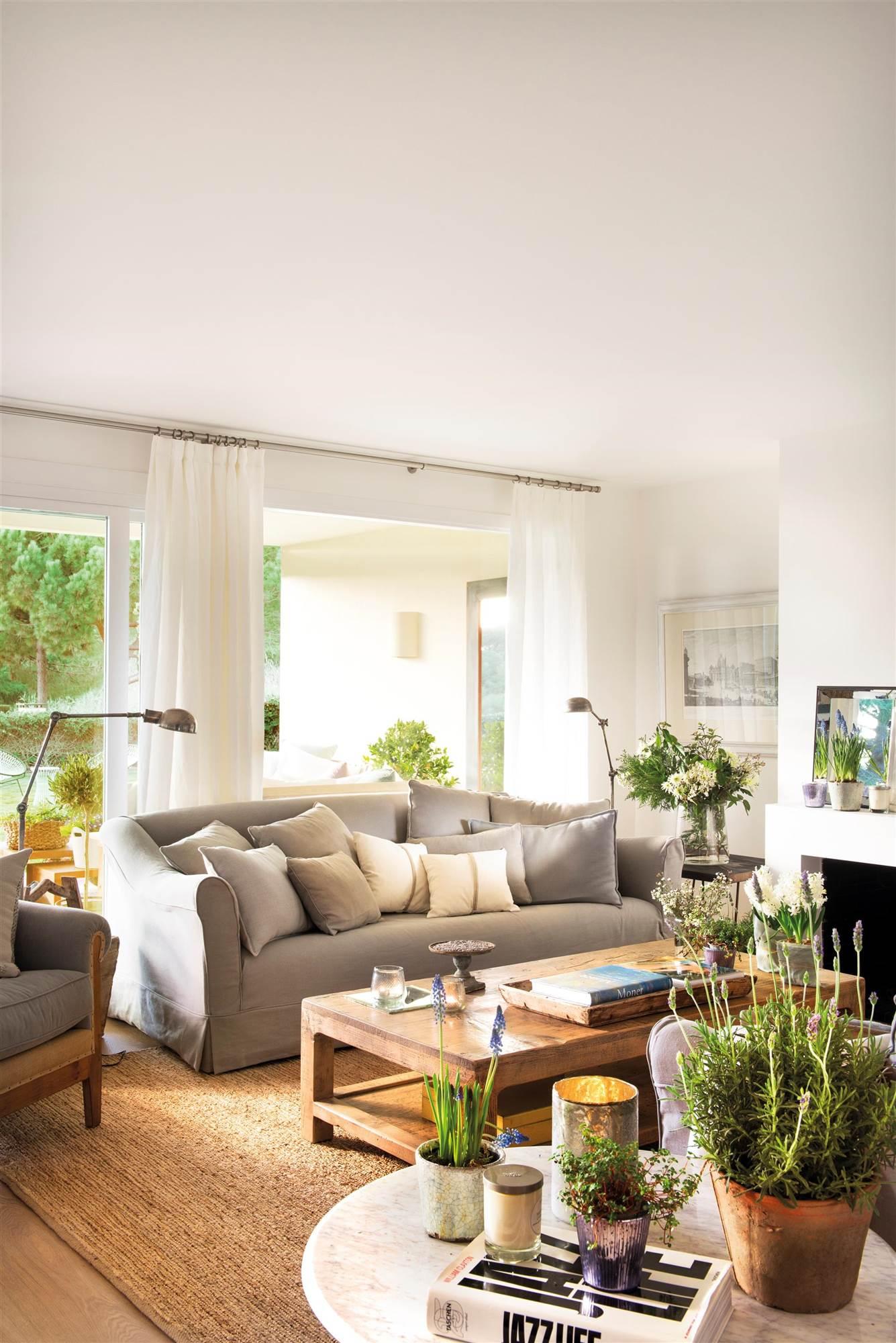 30 ideas para renovar tu casa con un bajo presupuesto - Alfombra rafia ...