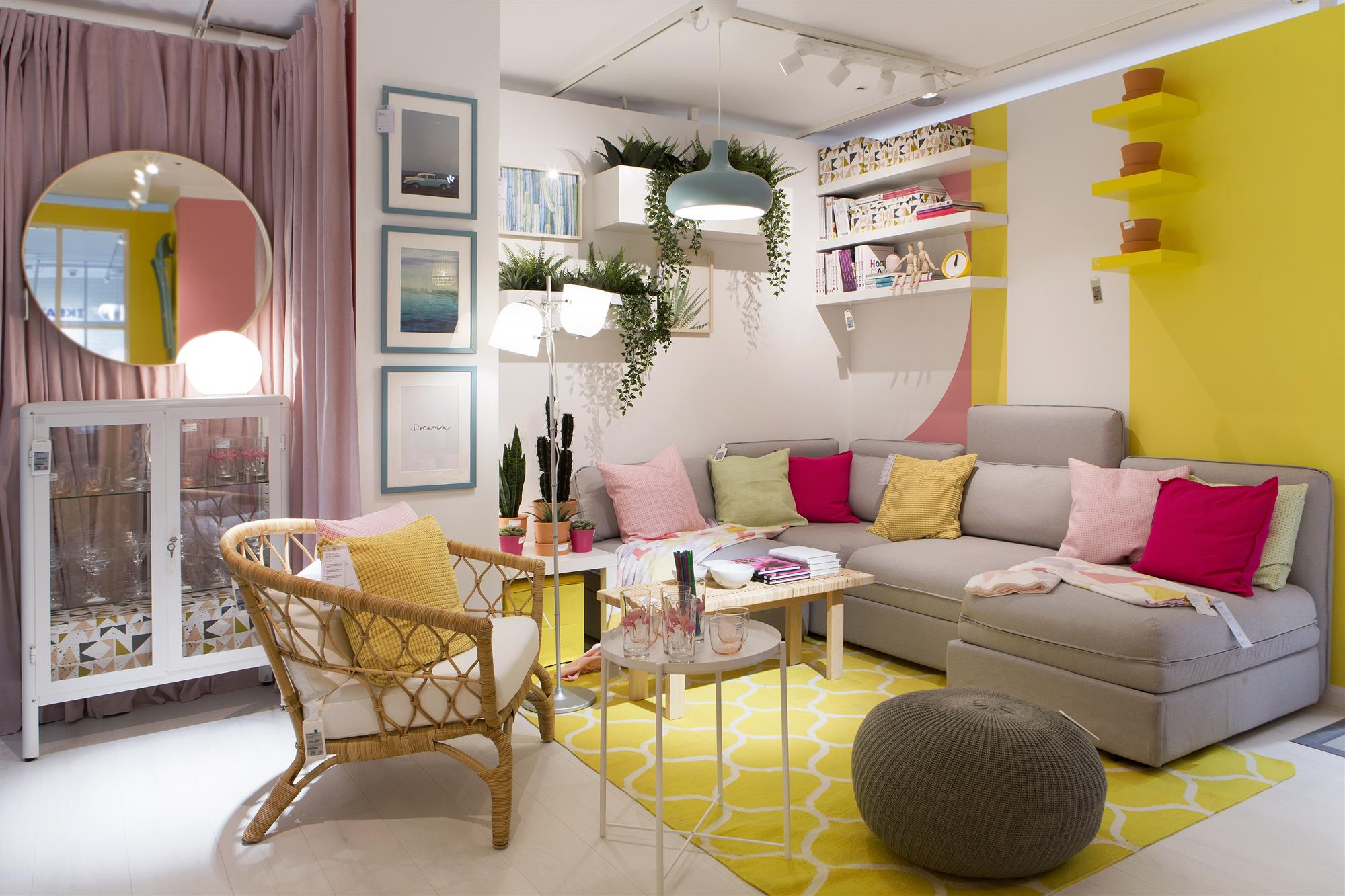Ikea abre nueva tienda en madrid - Ikea decoracion salon ...
