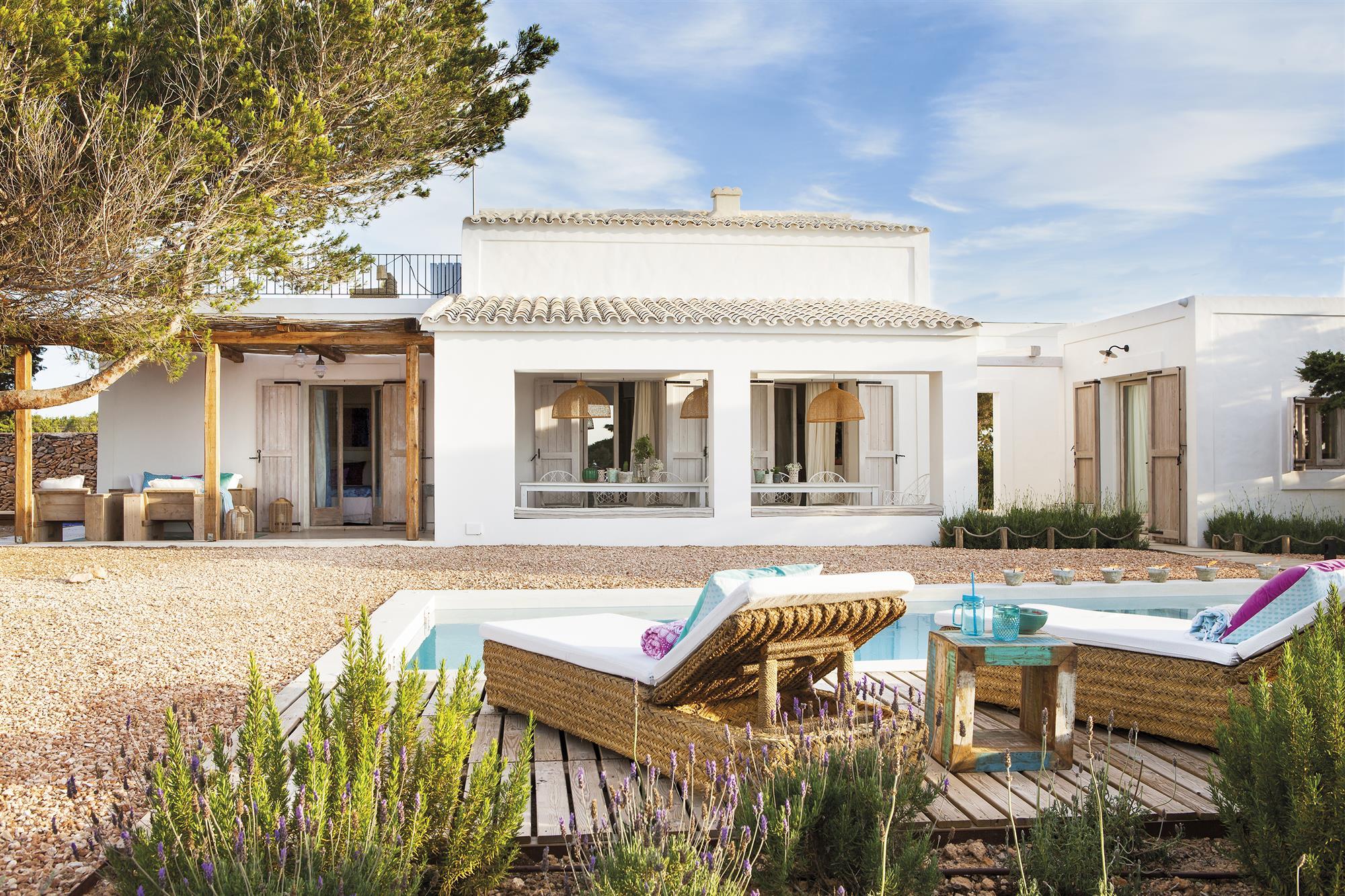 Una casa de veraneo en Formentera