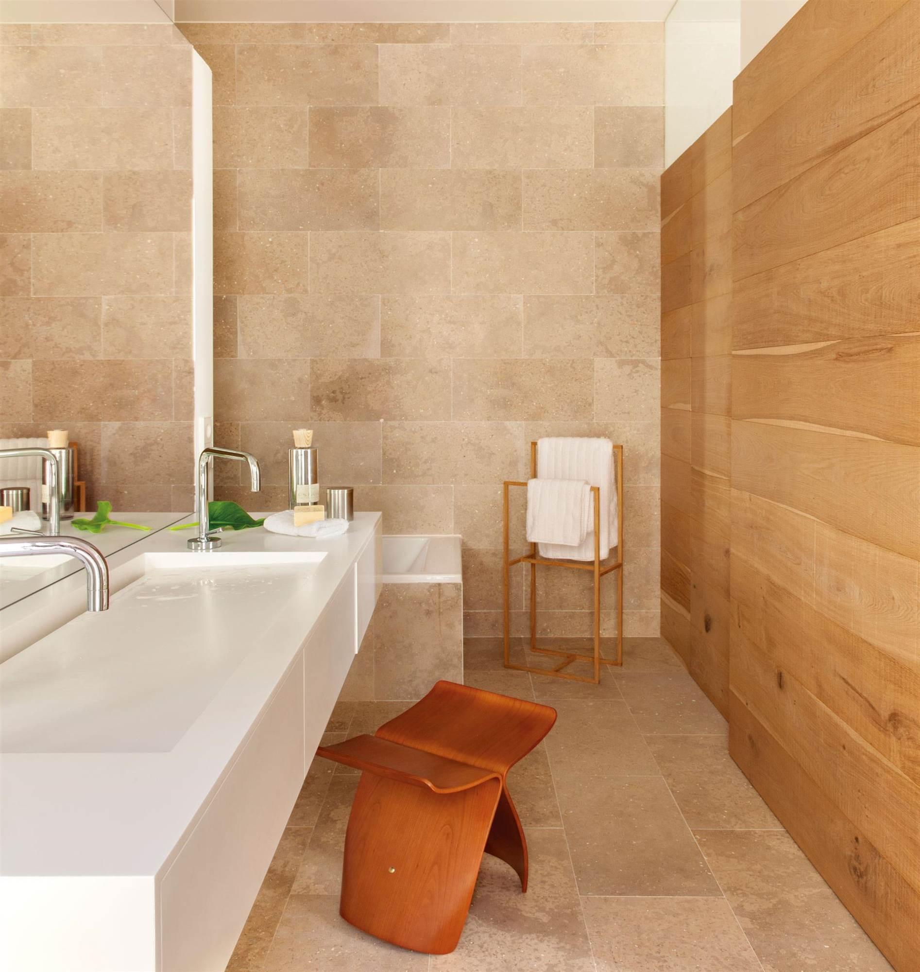 50 ba os modernos espectaculares bonitos y muy pr cticos for Bano de pared de concreto encerado