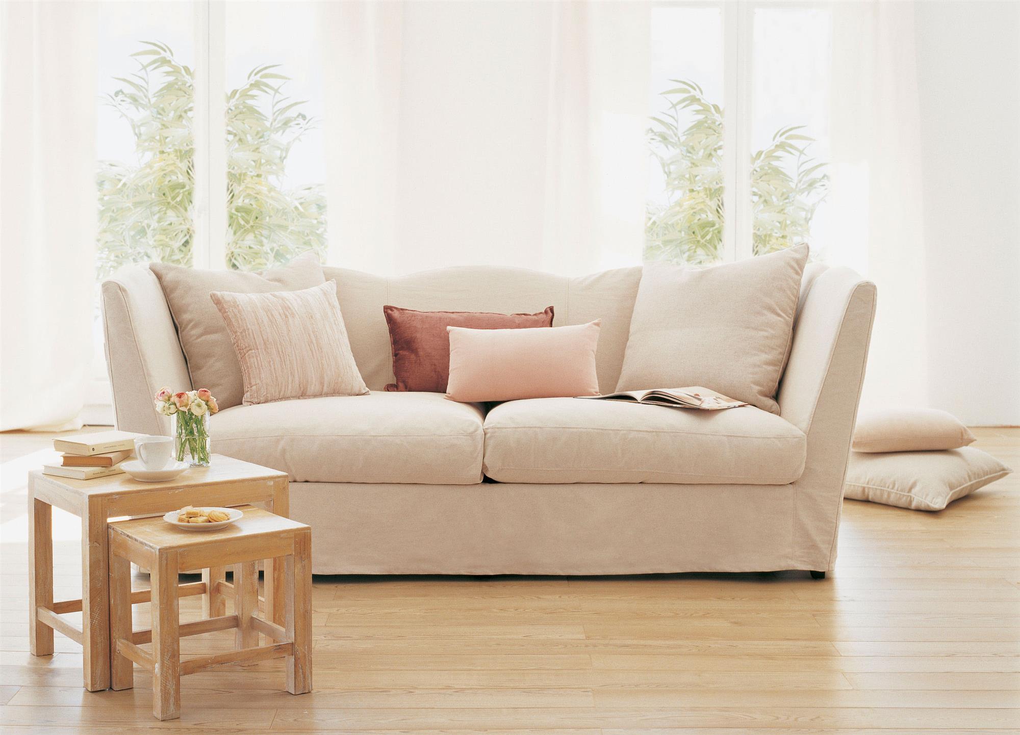 Fundas de sof las mejores soluciones ajustables para - Fundas elasticas para sofa ...