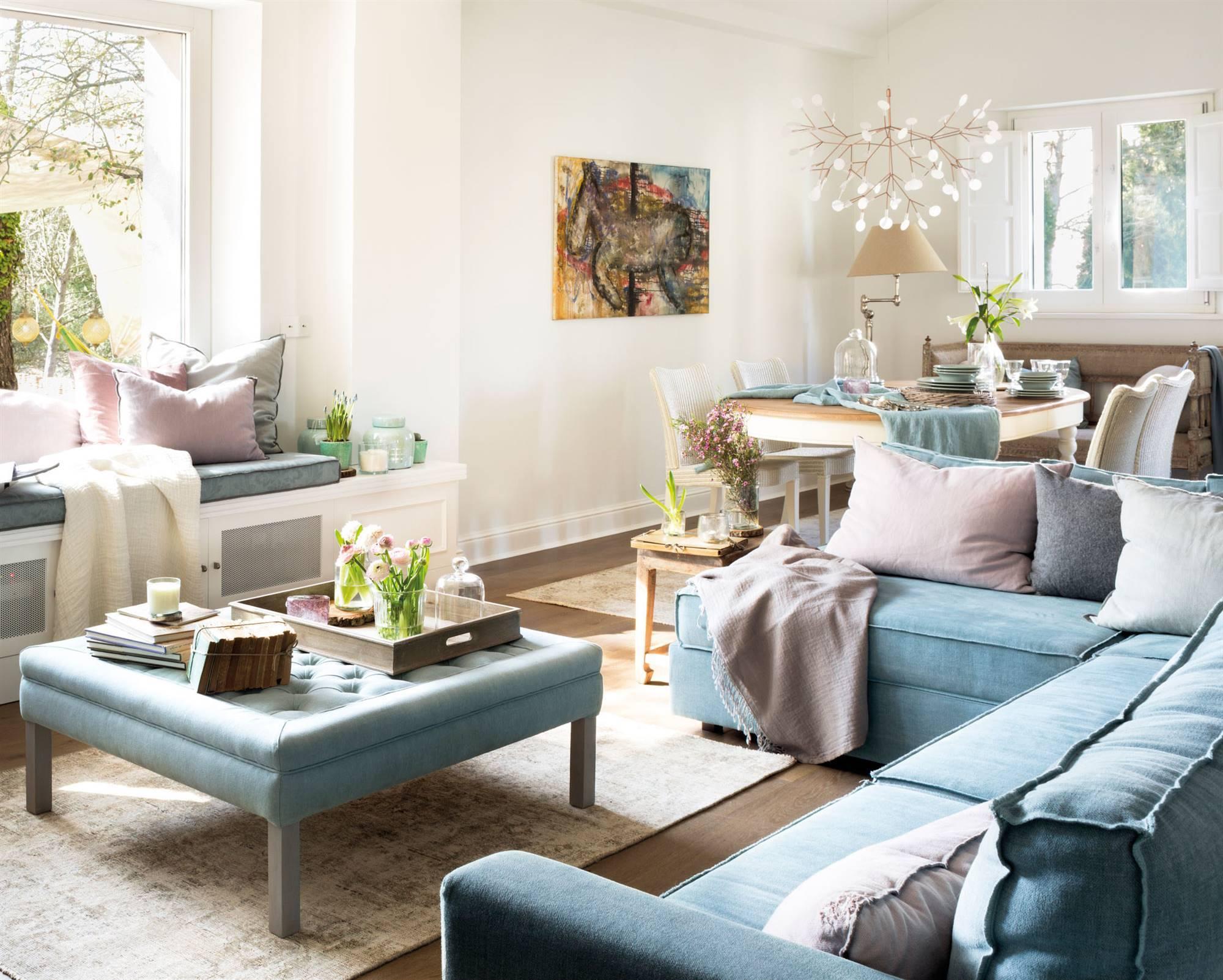 Mesas de centro ideas para decorarlas - Mesas para el sofa ...
