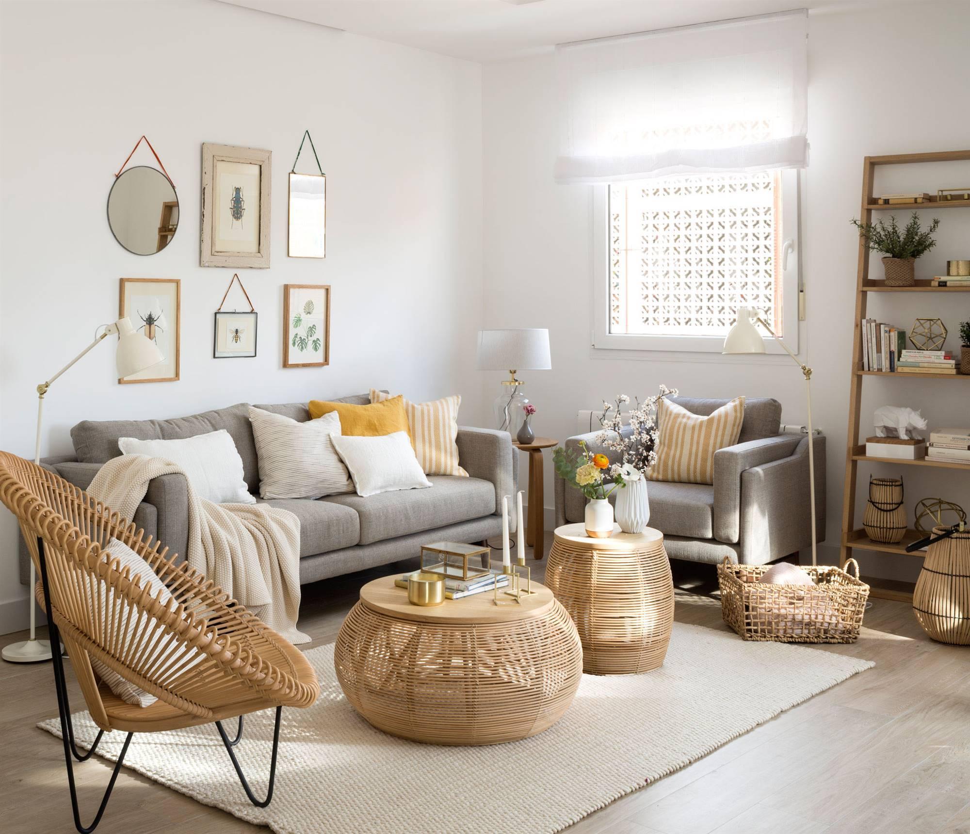 Mesas de centro ideas para decorarlas for Mesas de centro salon ikea
