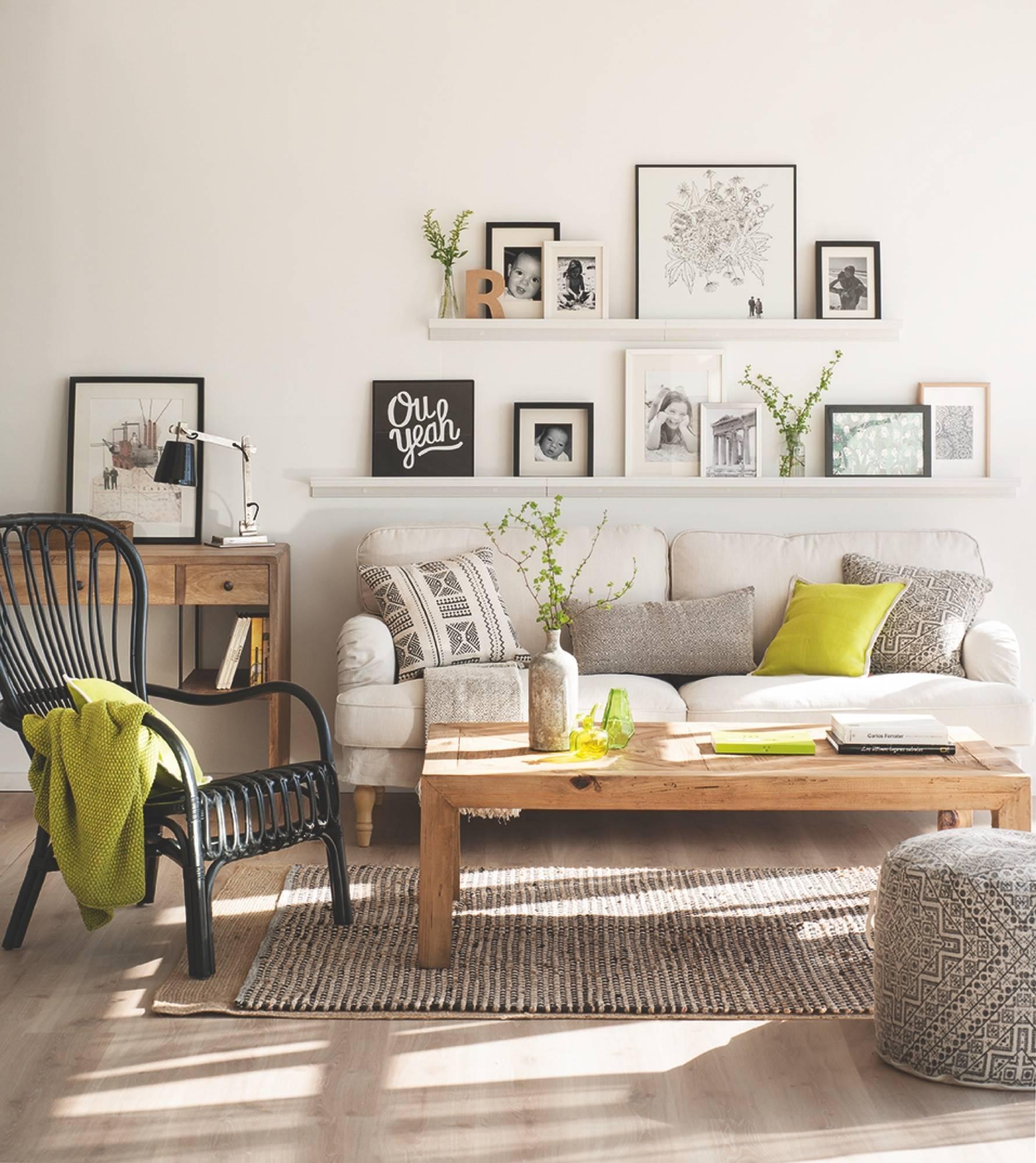 Ideas para la decoracin con cuadros en El Mueble