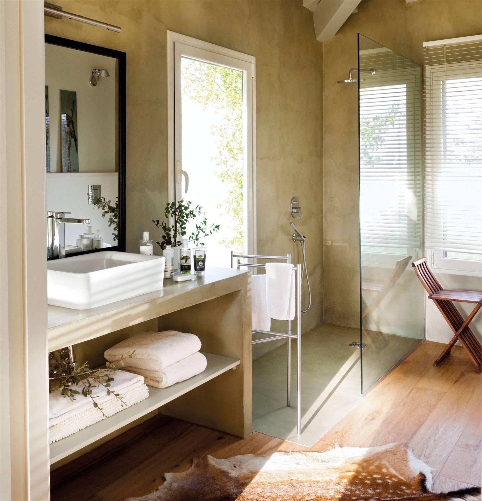 Platos de ducha a ras de suelo - Imagenes de banos con ducha ...