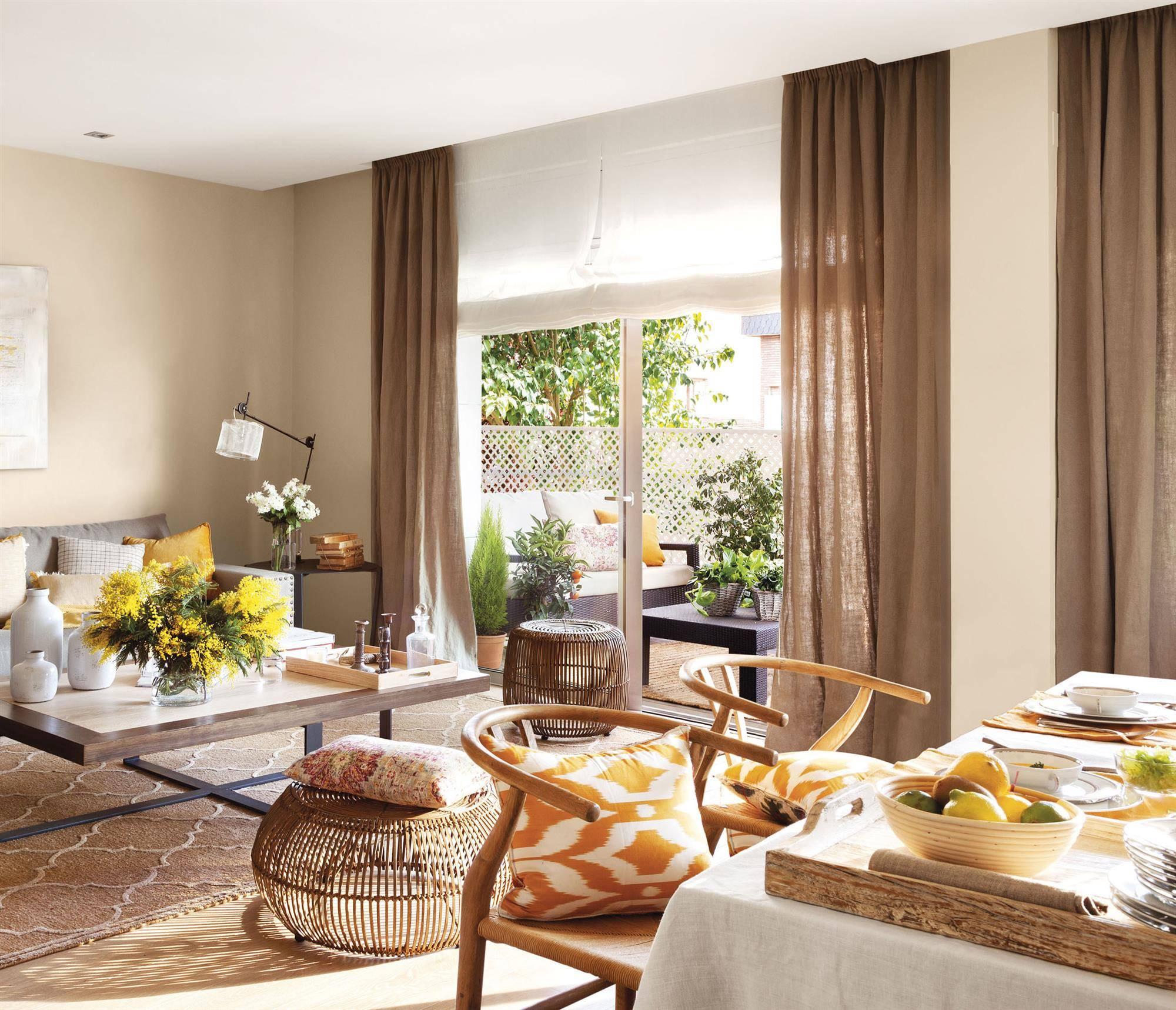 Cortinas : Cortinas para tu salón o dormitorio (telas e ideas) - ElMue