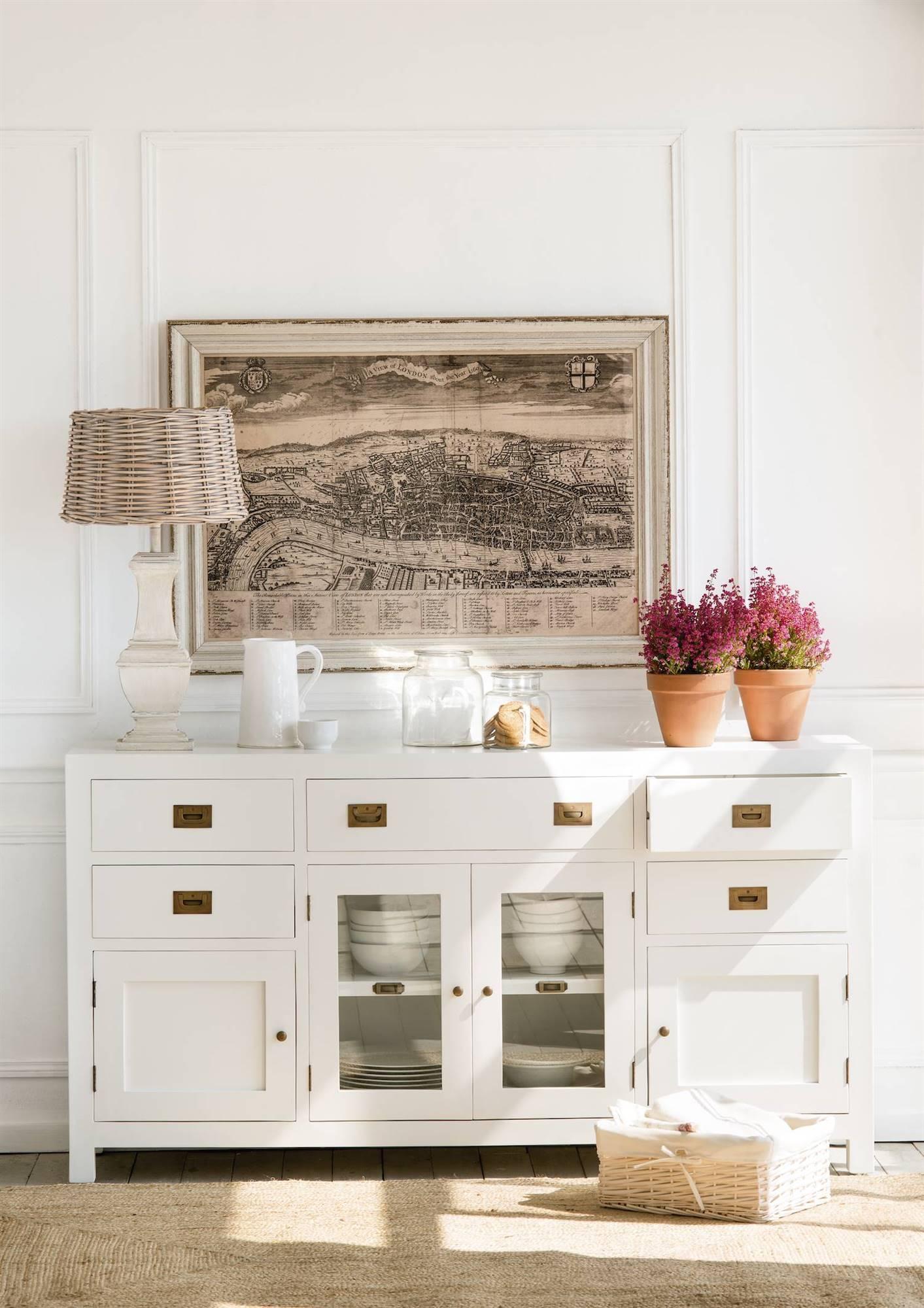 206 fotos de aparadores - Pintar paredes blancas ...