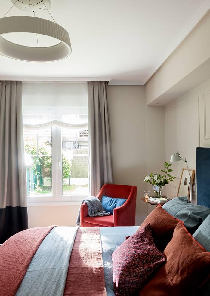 00483234 O. dormitorio con cortina y estor 00483234 O