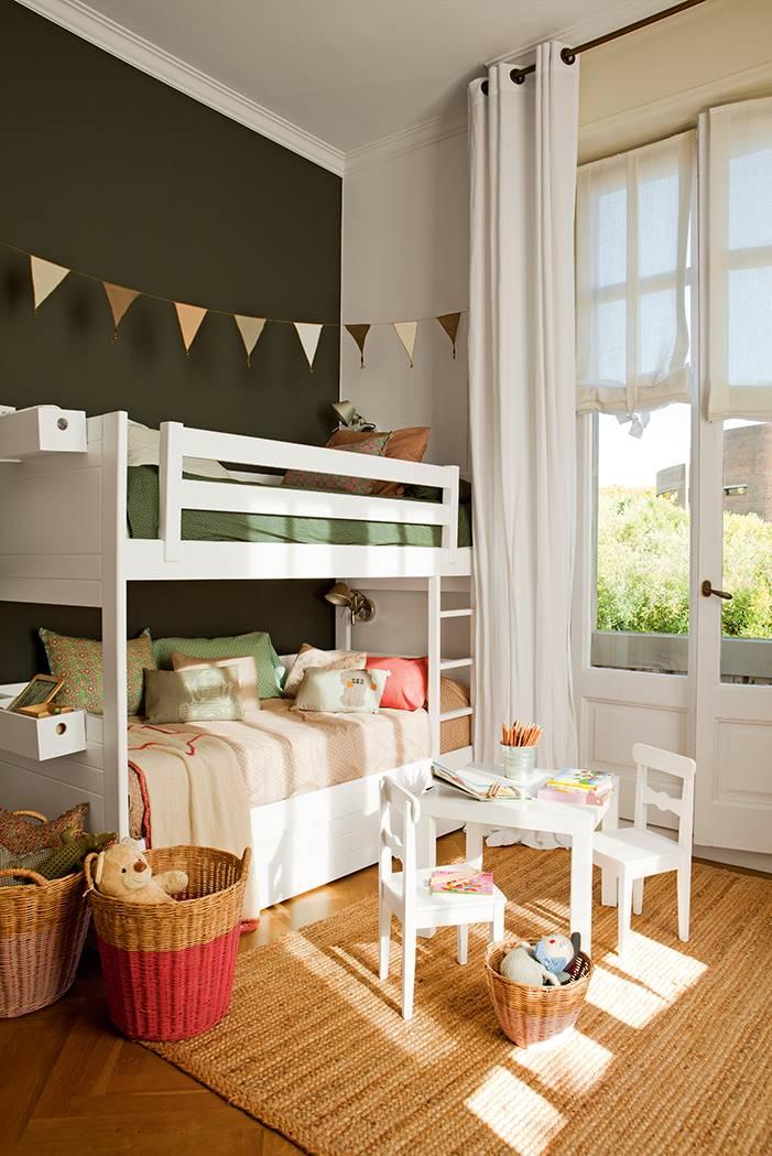 00397807. dormitorio infantil con literas 00397807