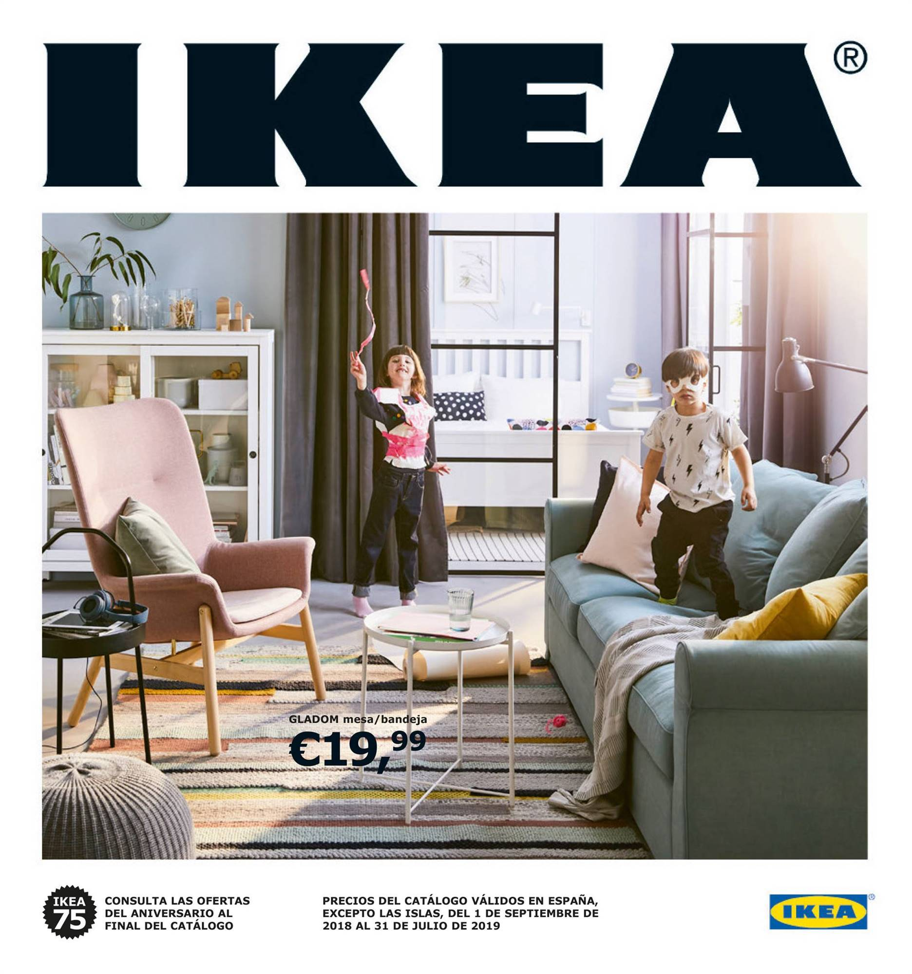 el nuevo cat logo de ikea 2019 ya est aqu. Black Bedroom Furniture Sets. Home Design Ideas