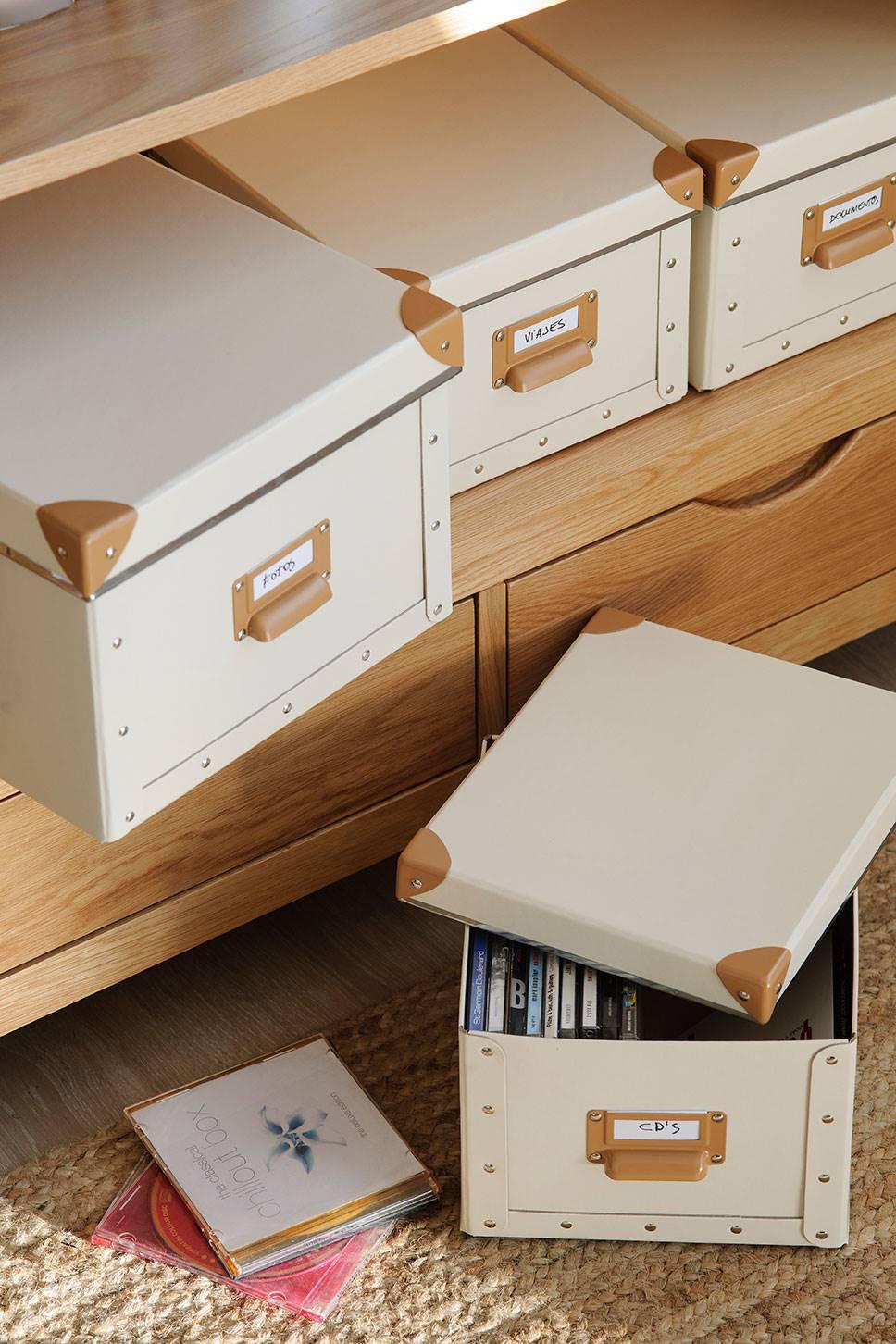 Cajas y almacenaje el mueble - Cajas almacenaje decorativas ...