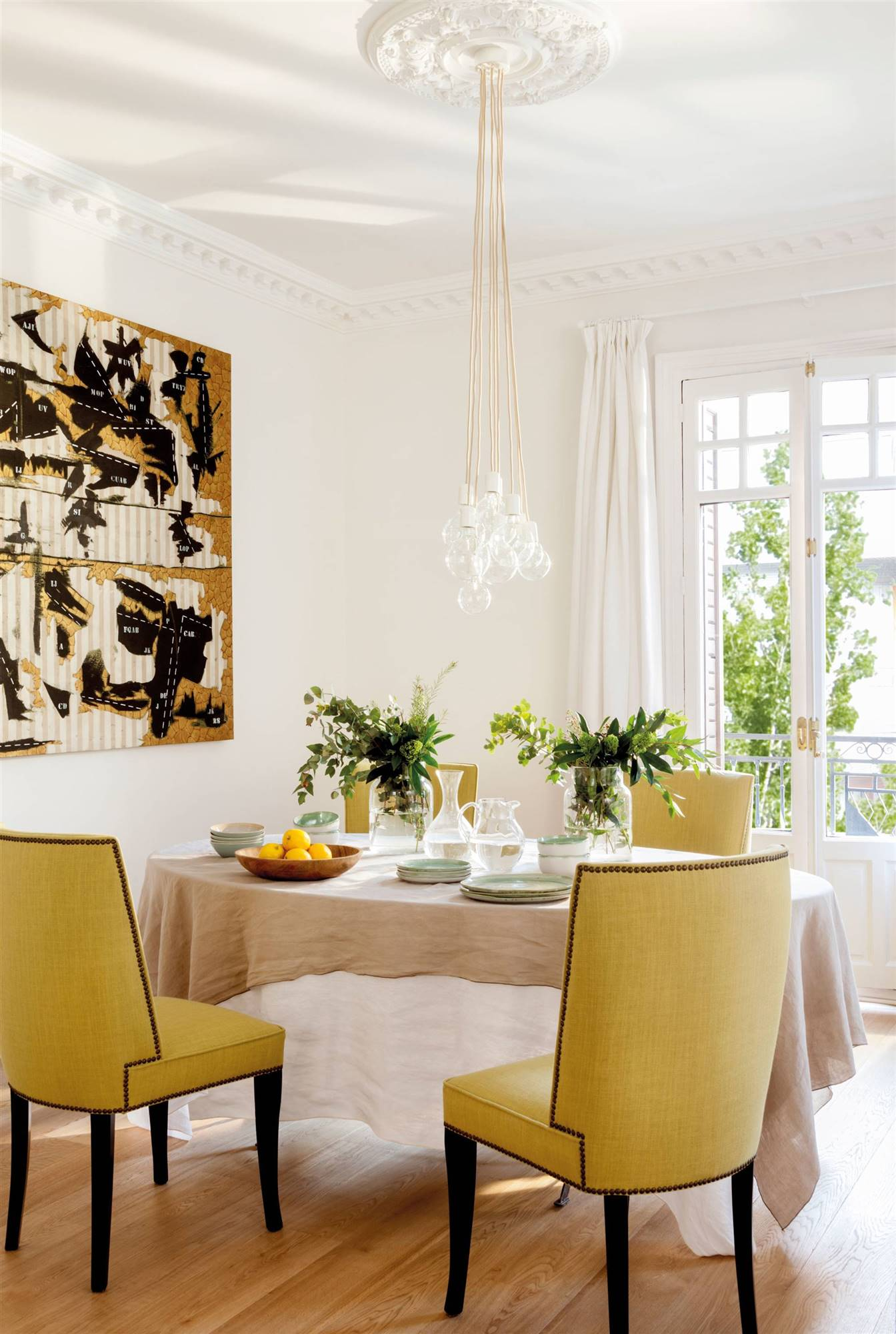 Comedores modernos for Mesa de comedor elegante lamentable