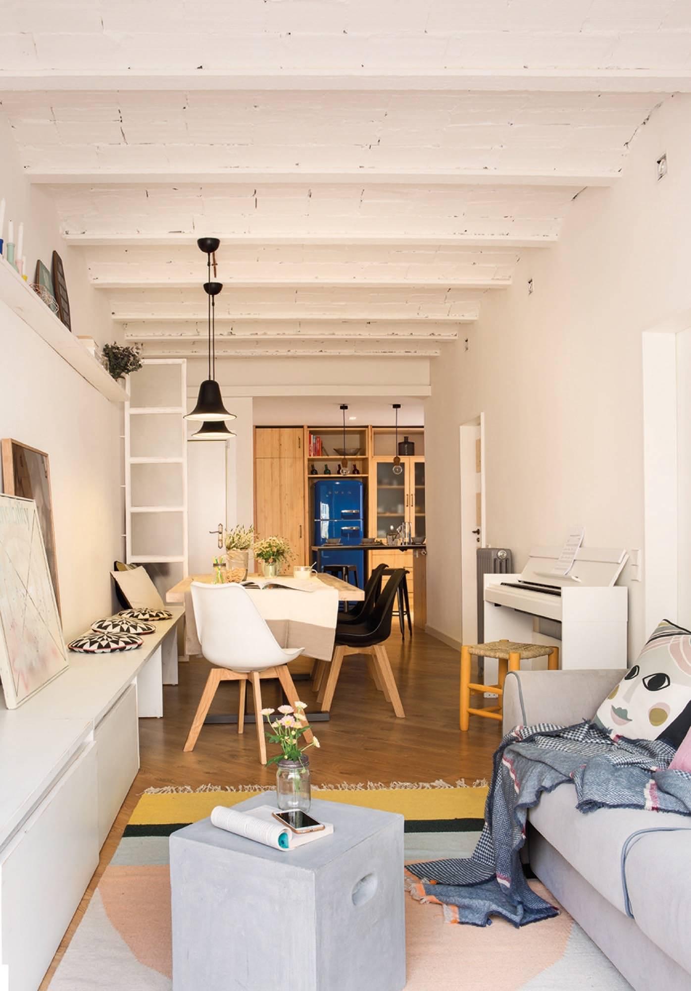 Ideas para almacenar en espacios pequeños
