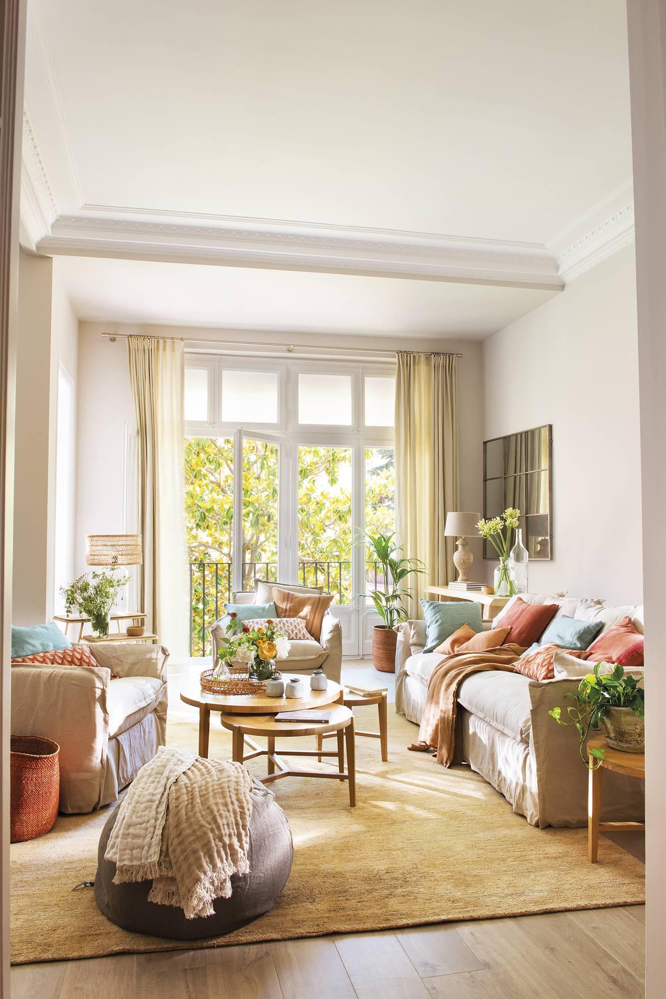 Un precioso piso de 1936 modernizado for Decoraciones rusticas para el hogar