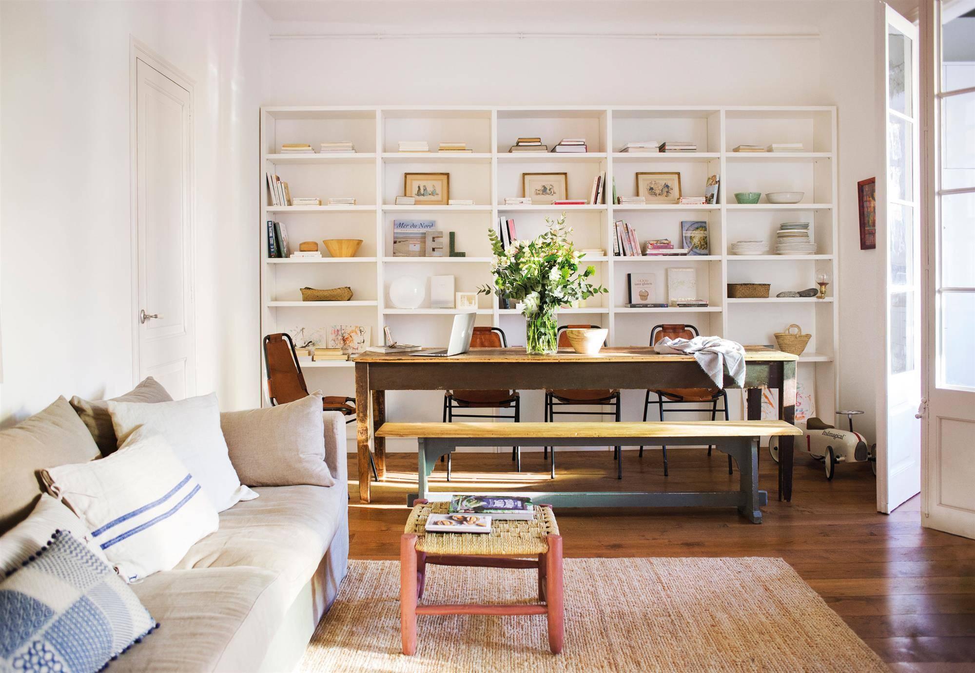 librerías prácticas para el salón