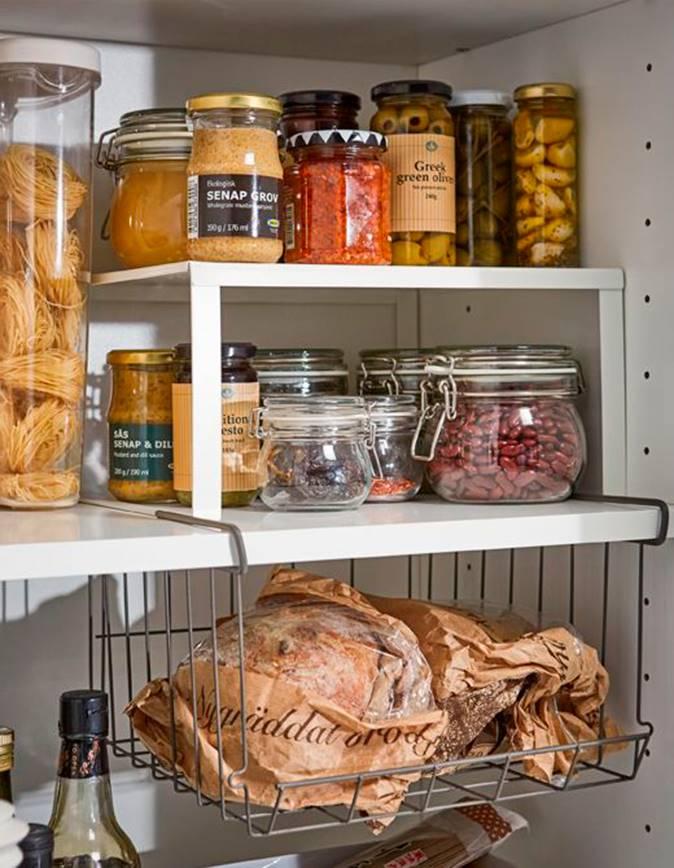 Armarios de cocina en orden y bien aprovechados - Armarios para despensa ...