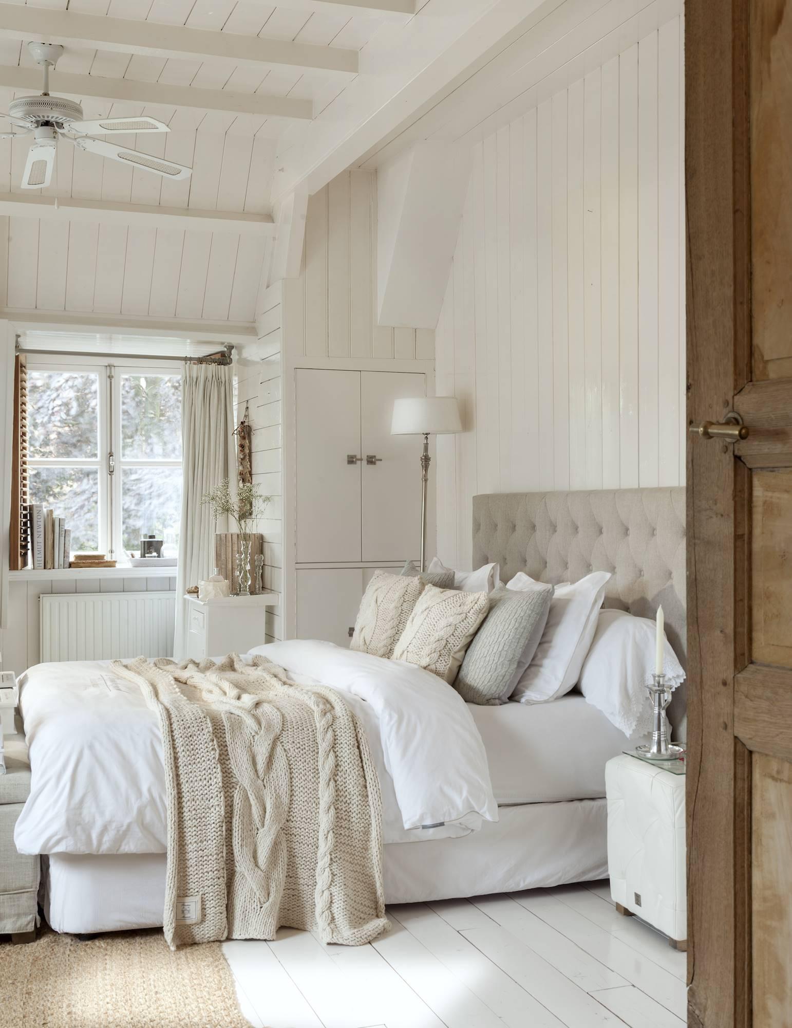 1001 fotos de ropa de cama - Decoracion paredes dormitorios ...