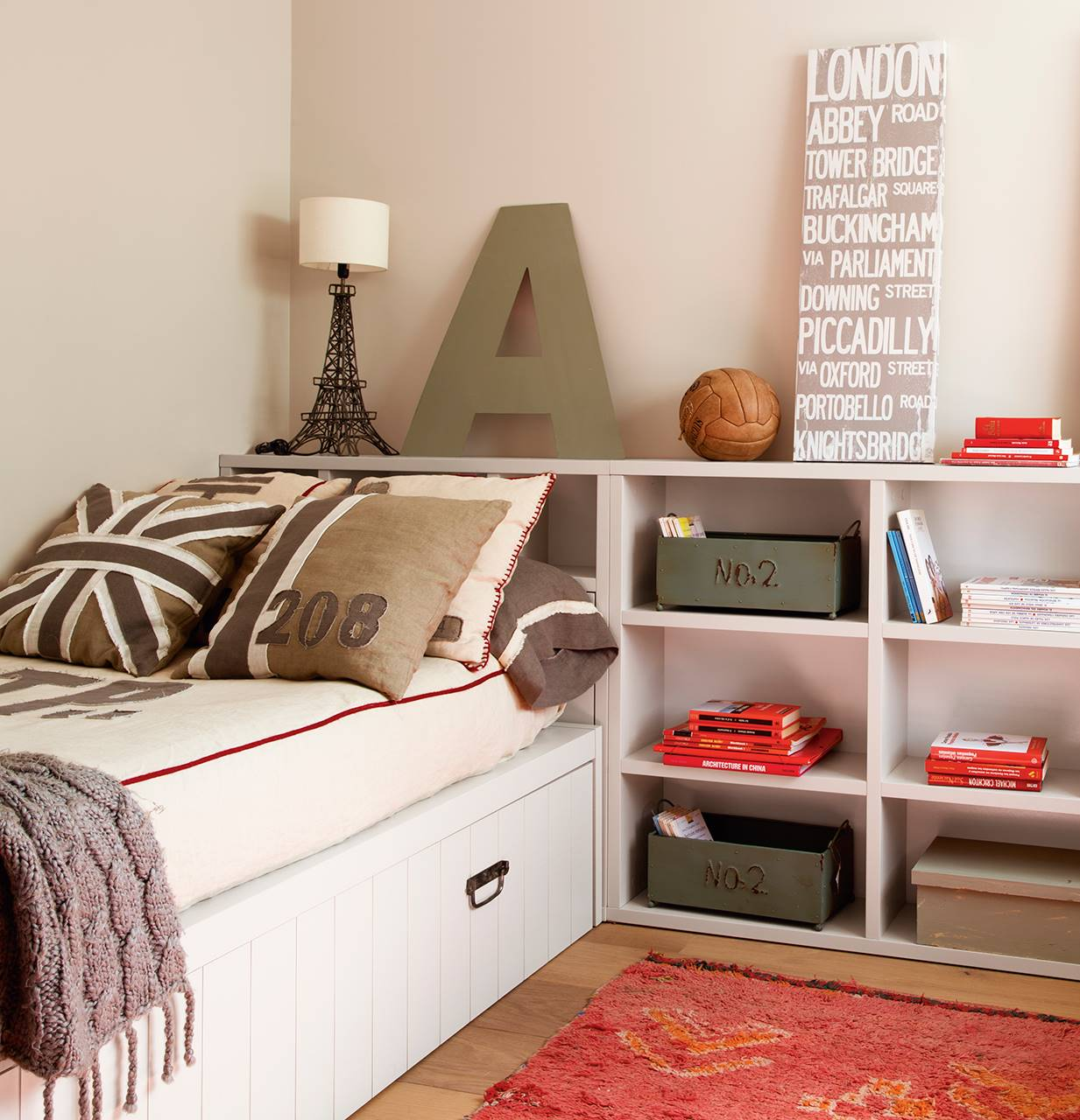 Dormitorios juveniles for Habitacion juvenil cama nido
