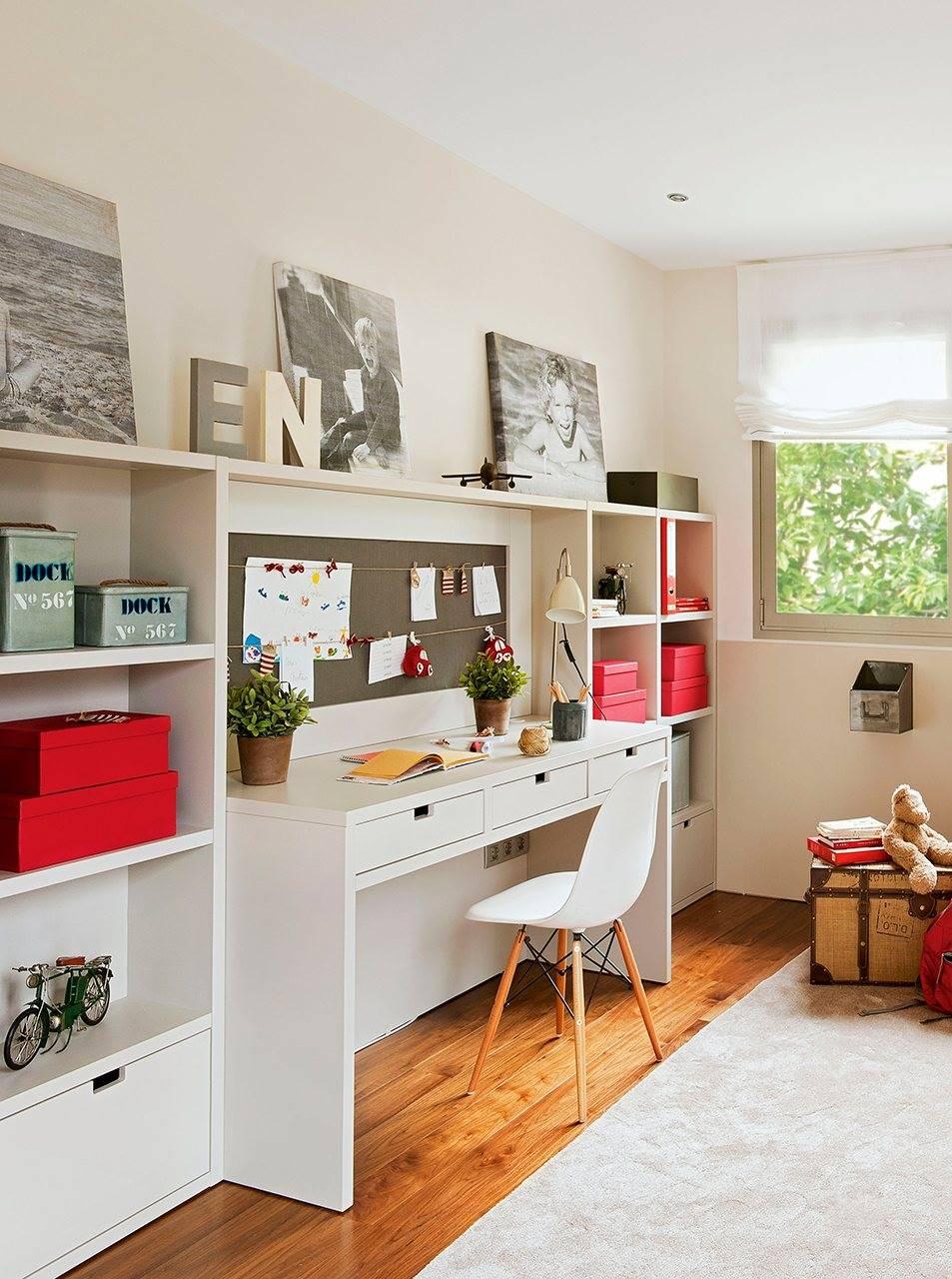 Dormitorios juveniles for Escritorios para dormitorios