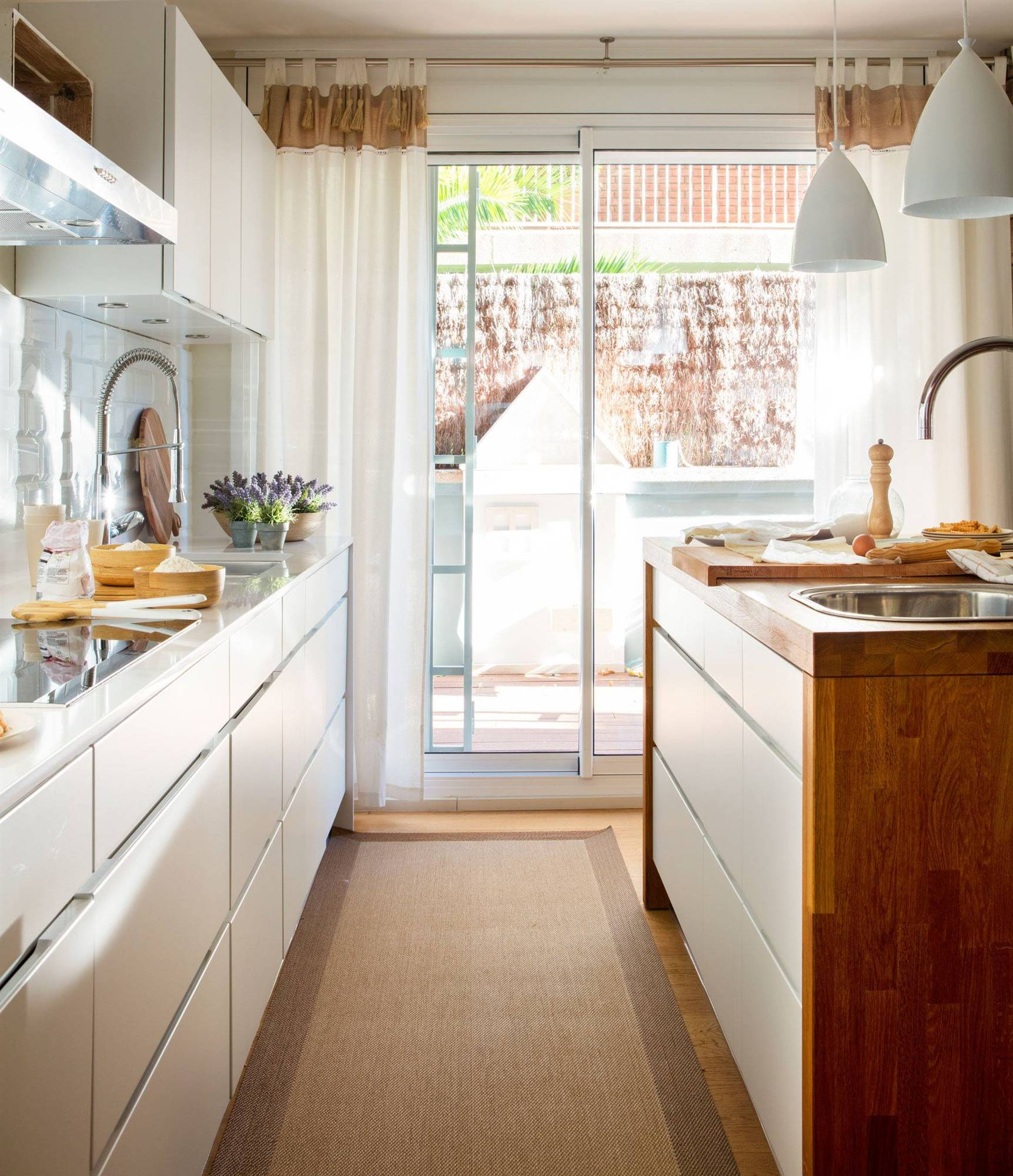 Cortinas insp rate con la selecci n de las 50 mejores de - Decoracion cortinas cocina ...