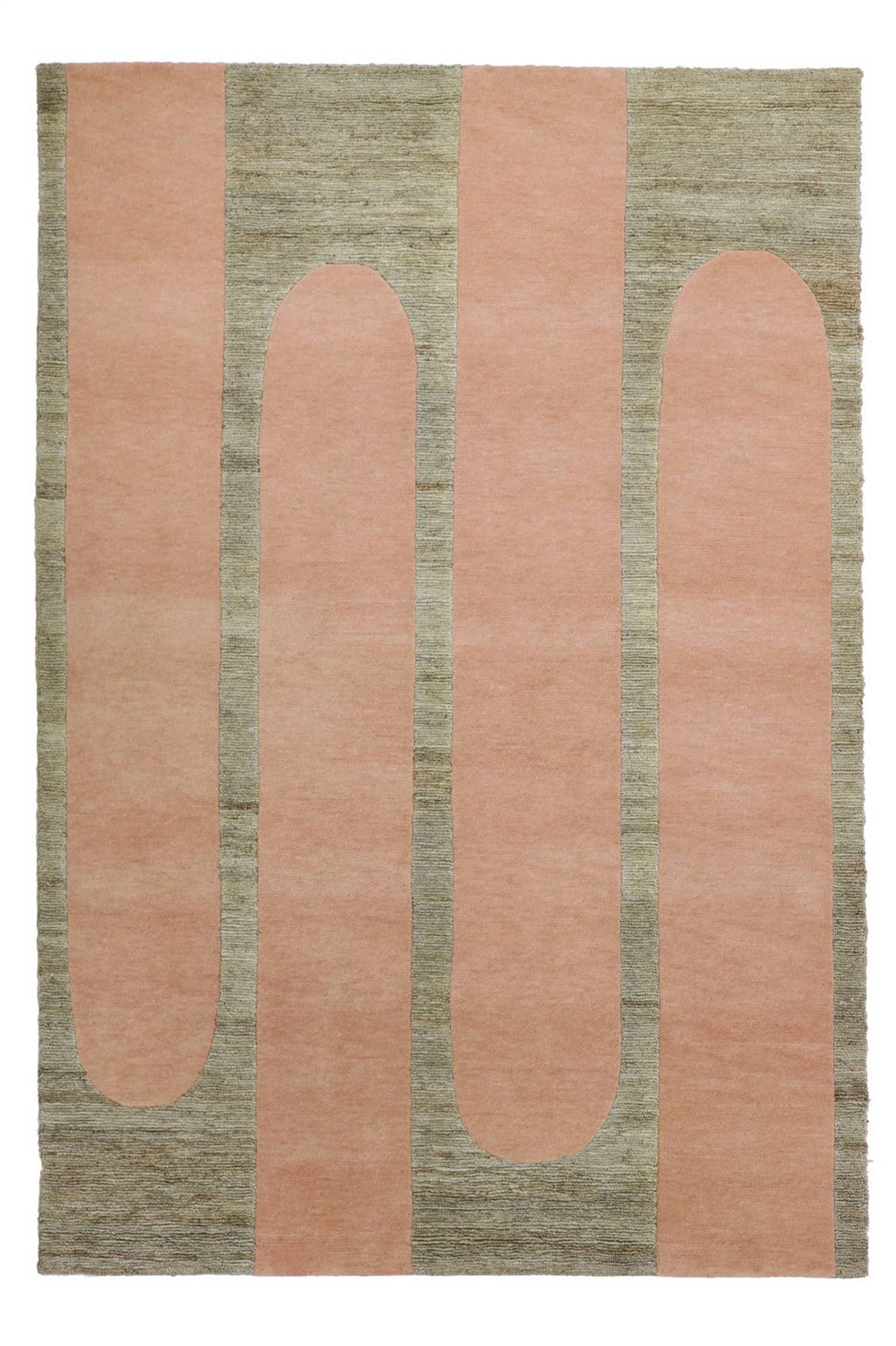 alfombra dac rugs helena ronher POPSYCLE-STRAWBERRY-FULL. Strawberry Popsycle