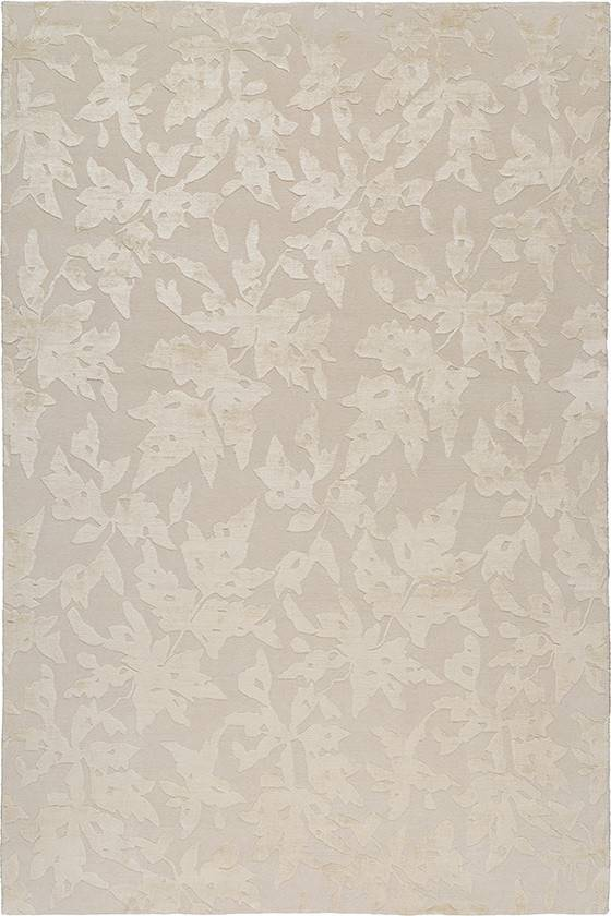alfombra THE RUG COMPANY Leaves. Inspiración naturaleza: Lace Leaves