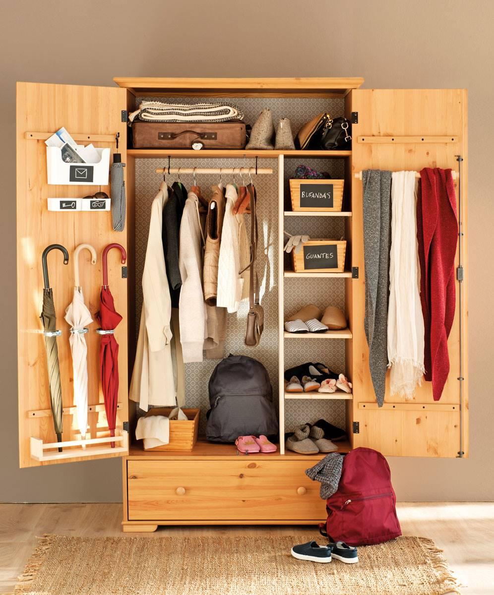1172 fotos de armarios - Como guardar los bolsos ordenados ...