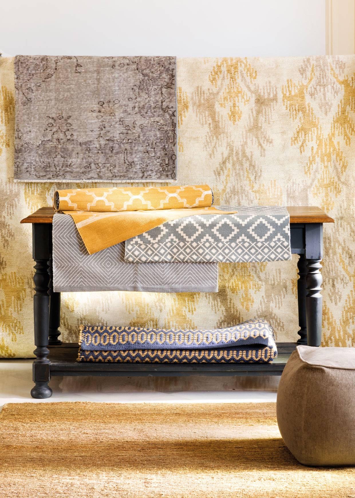 e70df47534b362 tendencias alfombras otoño ocres 00472521. Los colores de moda en alfombras