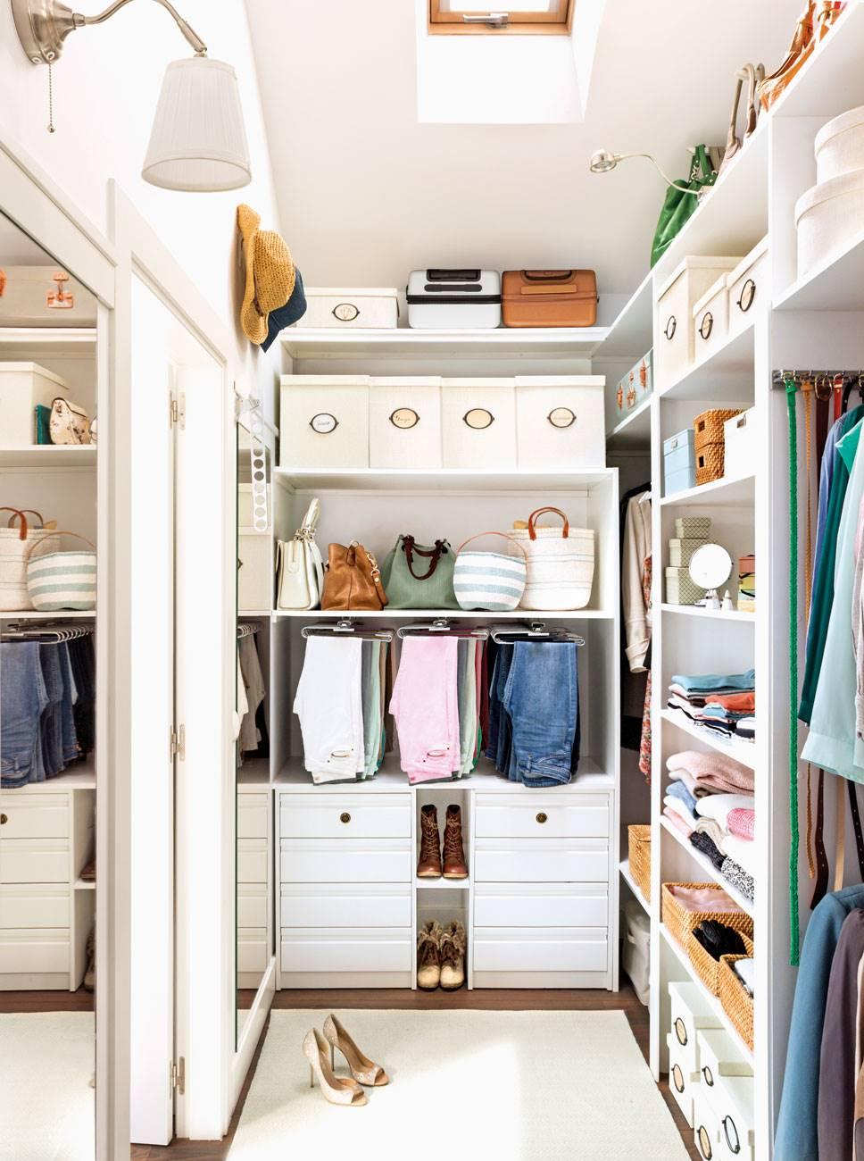 1172 fotos de armarios - Como organizar un armario empotrado pequeno ...
