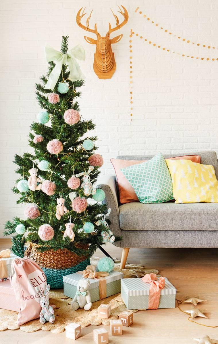Los Mejores 50 Arboles De Navidad - Arbol-de-navidad-decorado
