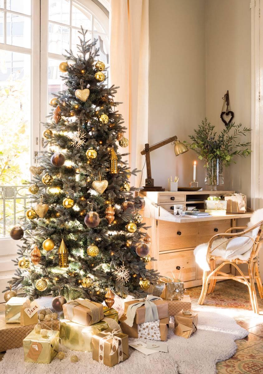 C mo decorar el pie del rbol de navidad - Como adornar mi arbol de navidad ...
