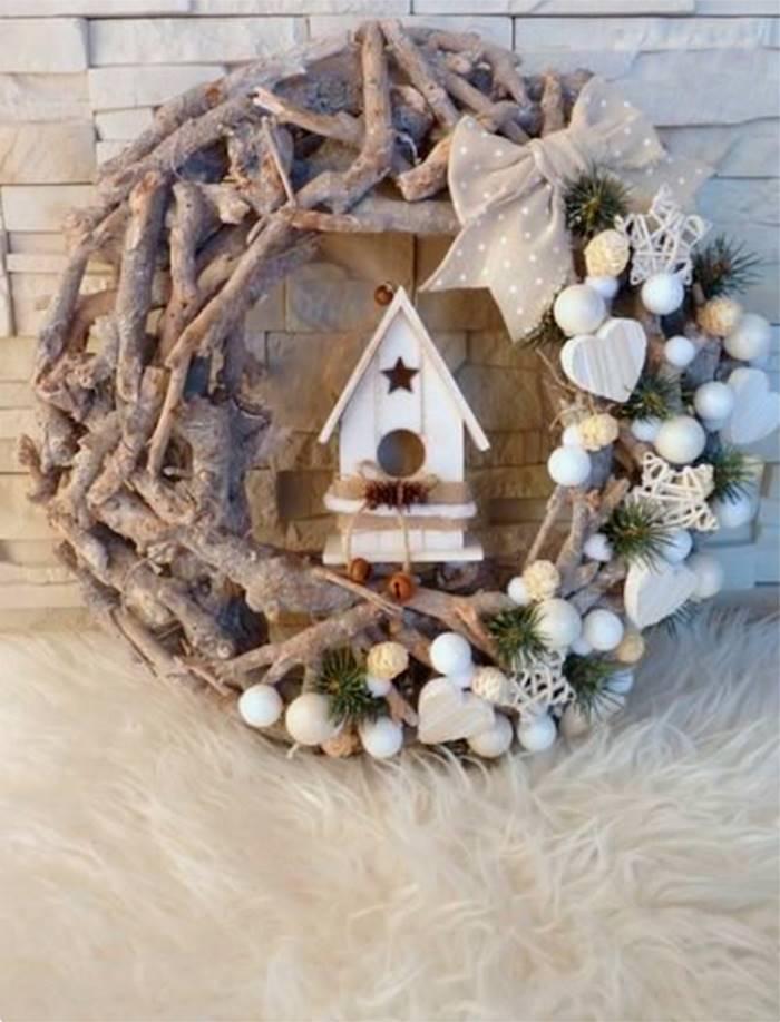 /árbol de Navidad CHIC-12 Conos de Pino de Abeto Florista Natural Adornos de Navidad