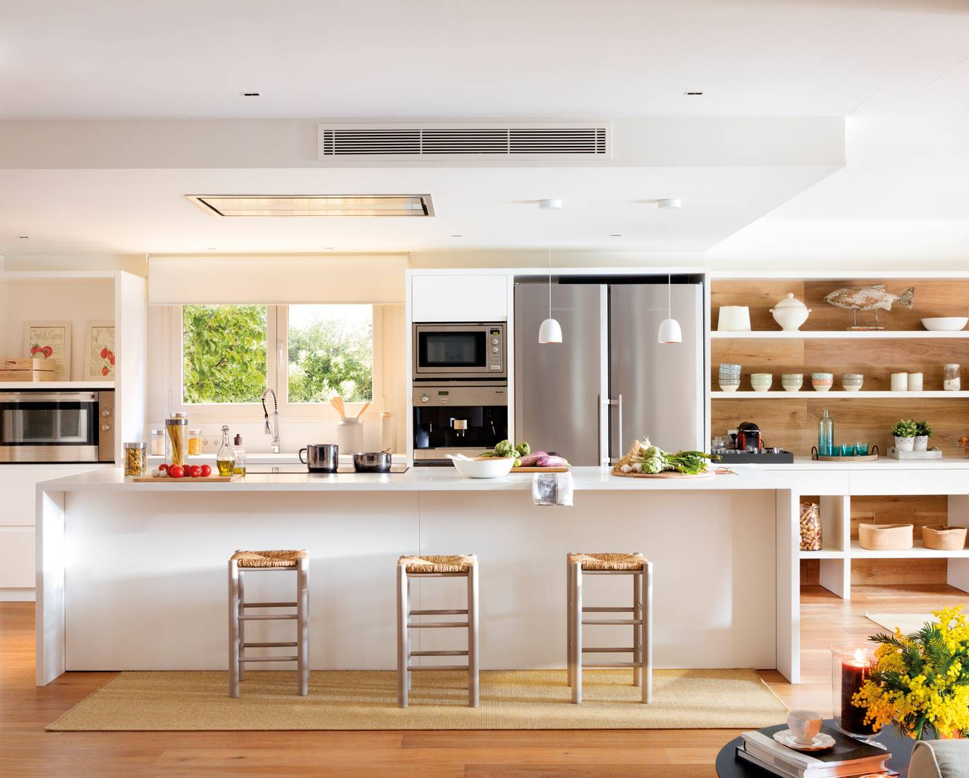 50 Cocinas Abiertas E Integradas En El Salon O Comedor