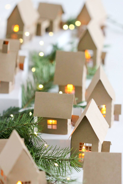 6. Una villa iluminada