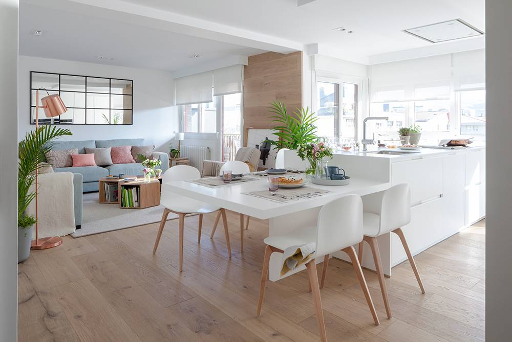 Mesas ideales para comedores peque os Mesas y sillas para comedor pequeno
