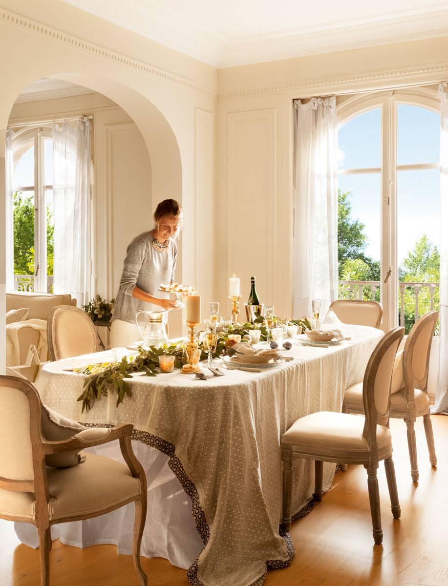 Ideas para decorar tu mesa de navidad - Como adornar la mesa en navidad ...